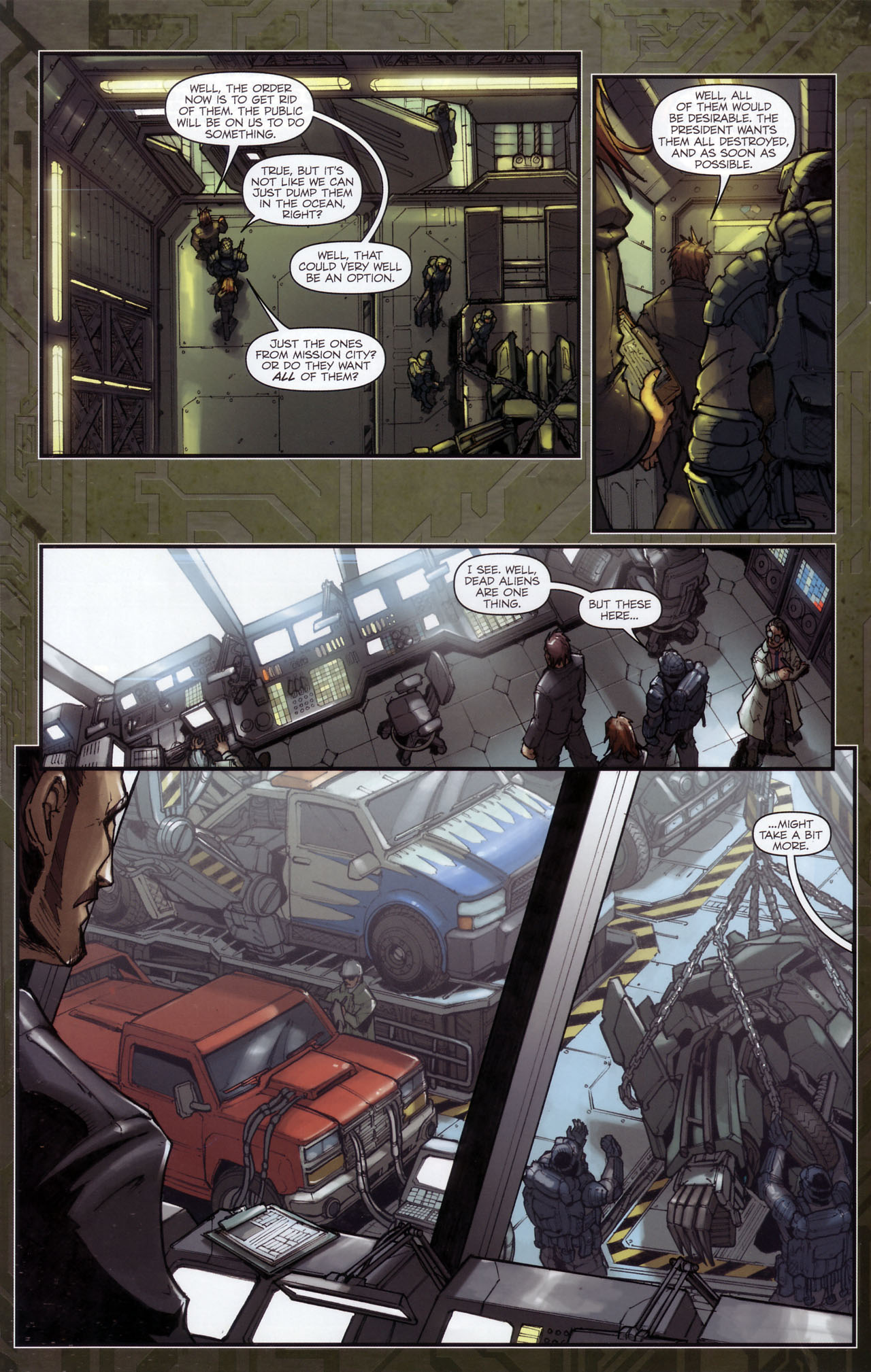 Read online Transformers: The Reign of Starscream comic -  Issue #3 - 17