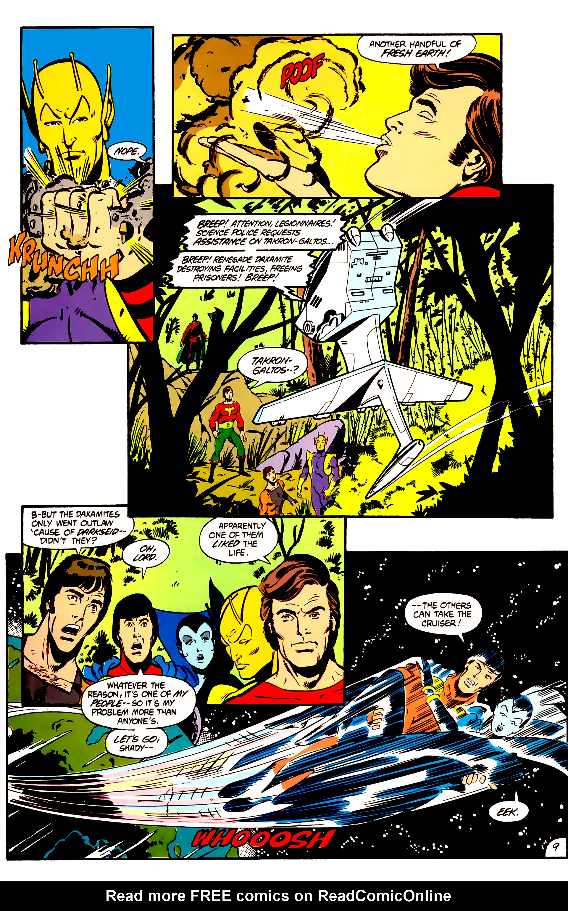 Legion of Super-Heroes (1984) 1 Page 10