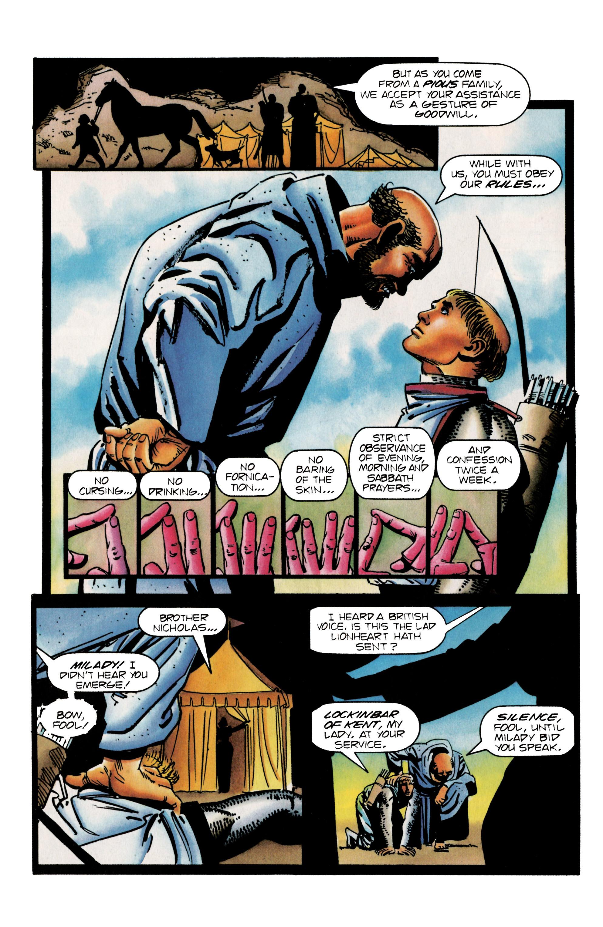 Read online Eternal Warrior (1992) comic -  Issue #25 - 5