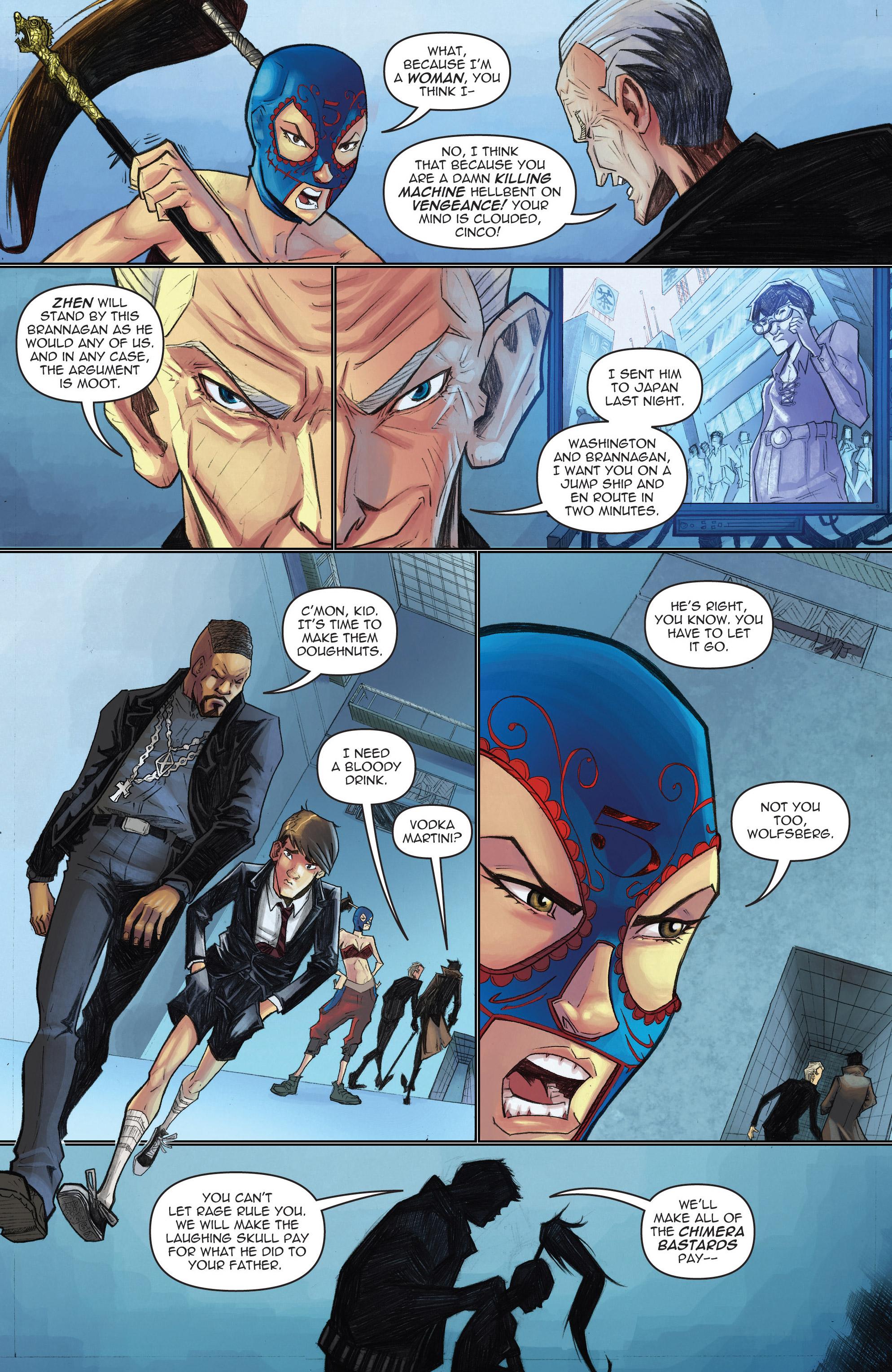 Read online Infinite Seven comic -  Issue #3 - 11