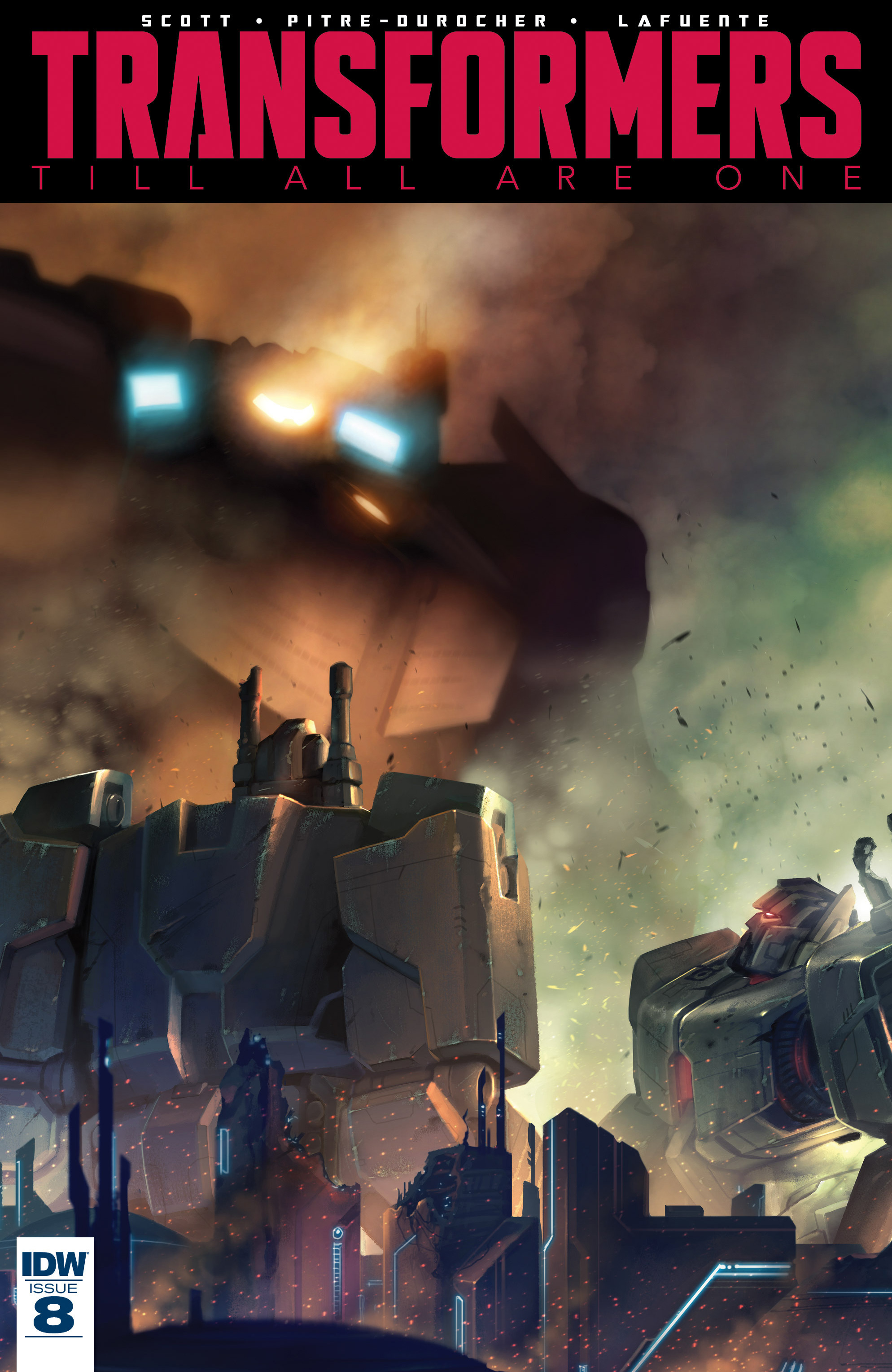 Read online Transformers: Till All Are One comic -  Issue #8 - 1