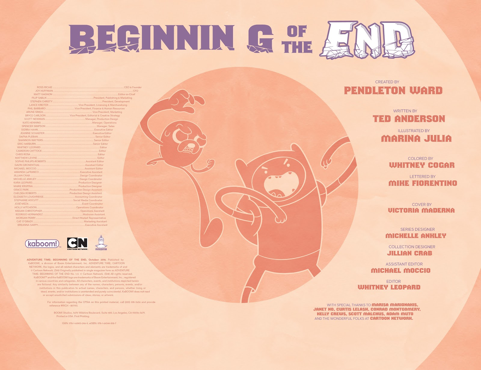 Read online Adventure Time: Beginning of the End comic -  Issue # _TPB - 4