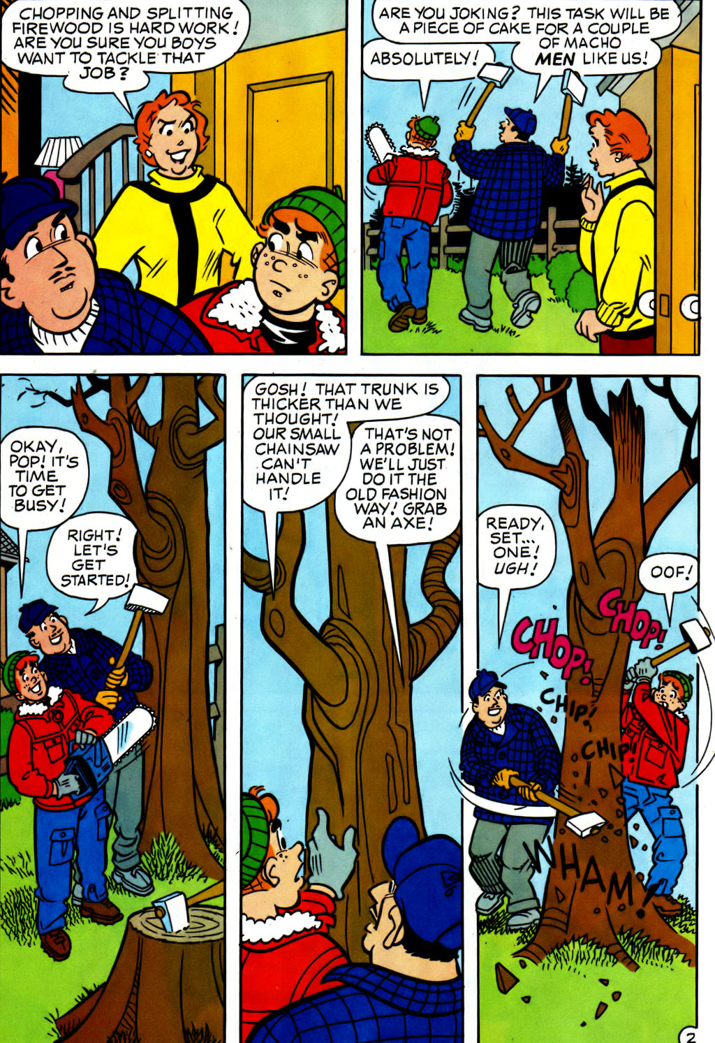 Read online Archie (1960) comic -  Issue #562 - 14