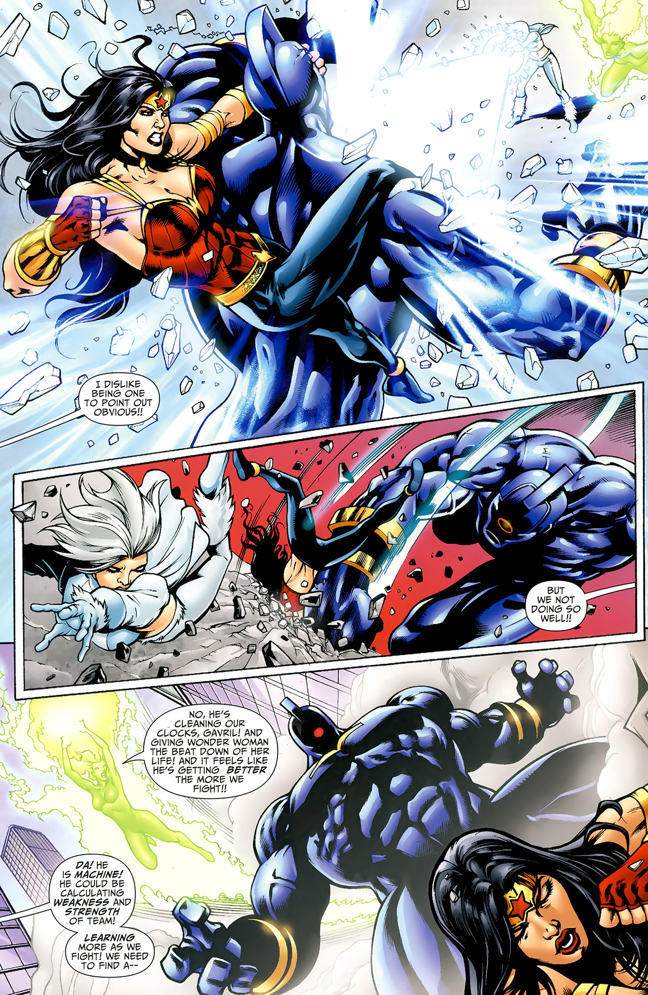 Read online Justice League: Generation Lost comic -  Issue #23 - 20