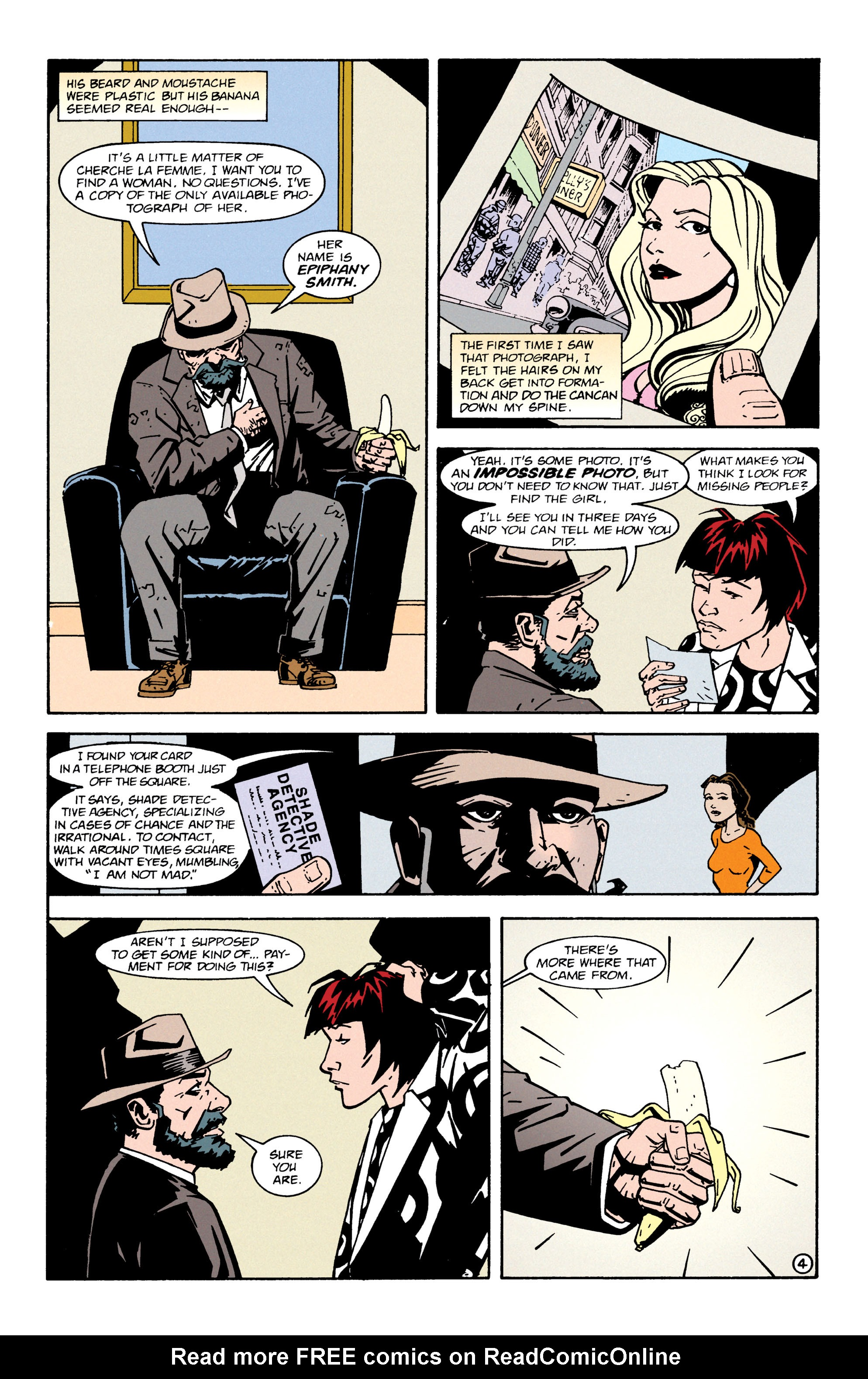 Read online Shade, the Changing Man comic -  Issue #65 - 5