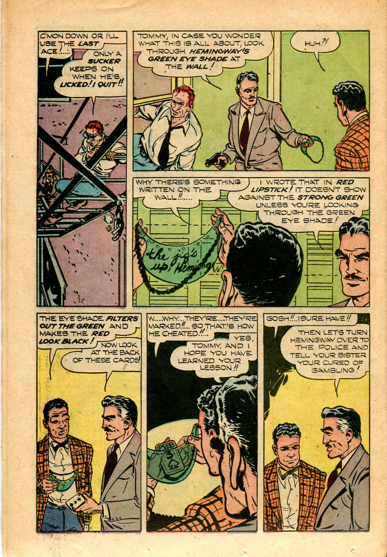 Read online Shadow Comics comic -  Issue #82 - 36