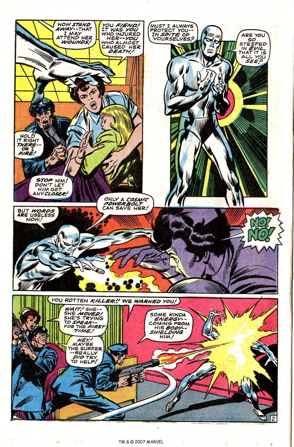 Silver Surfer (1968) issue 3 - Page 4