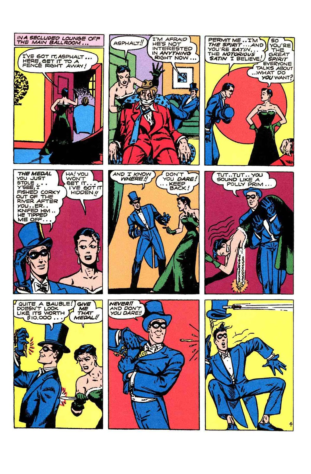 Read online Will Eisner's The Spirit Archives comic -  Issue # TPB 2 (Part 1) - 84