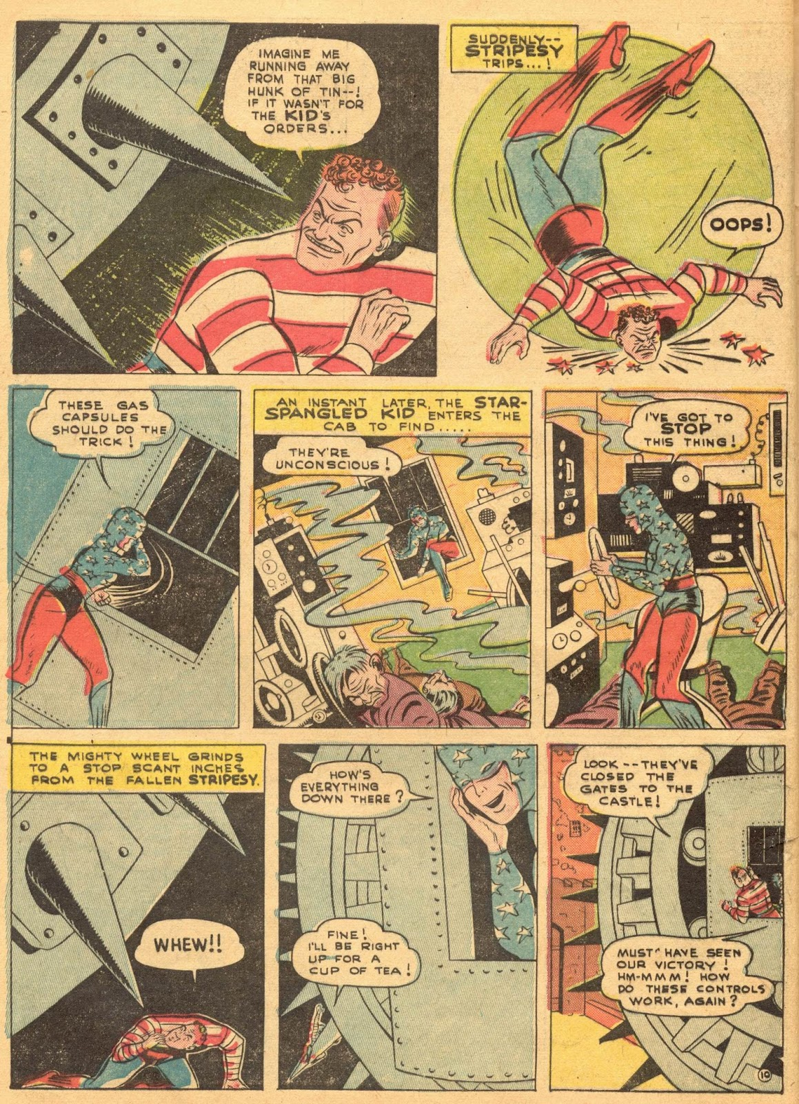 Star Spangled Comics (1941) issue 1 - Page 12