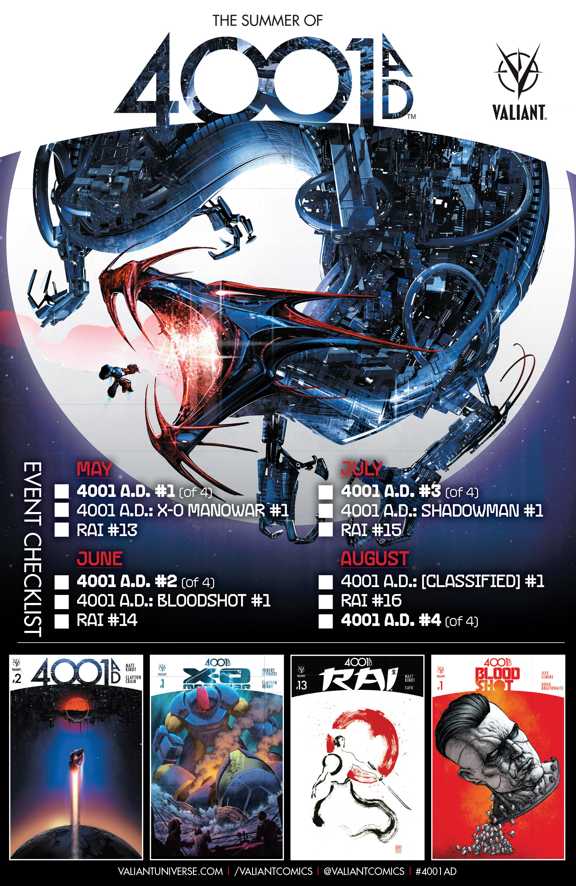 Read online 4001 A.D. comic -  Issue #1 - 41
