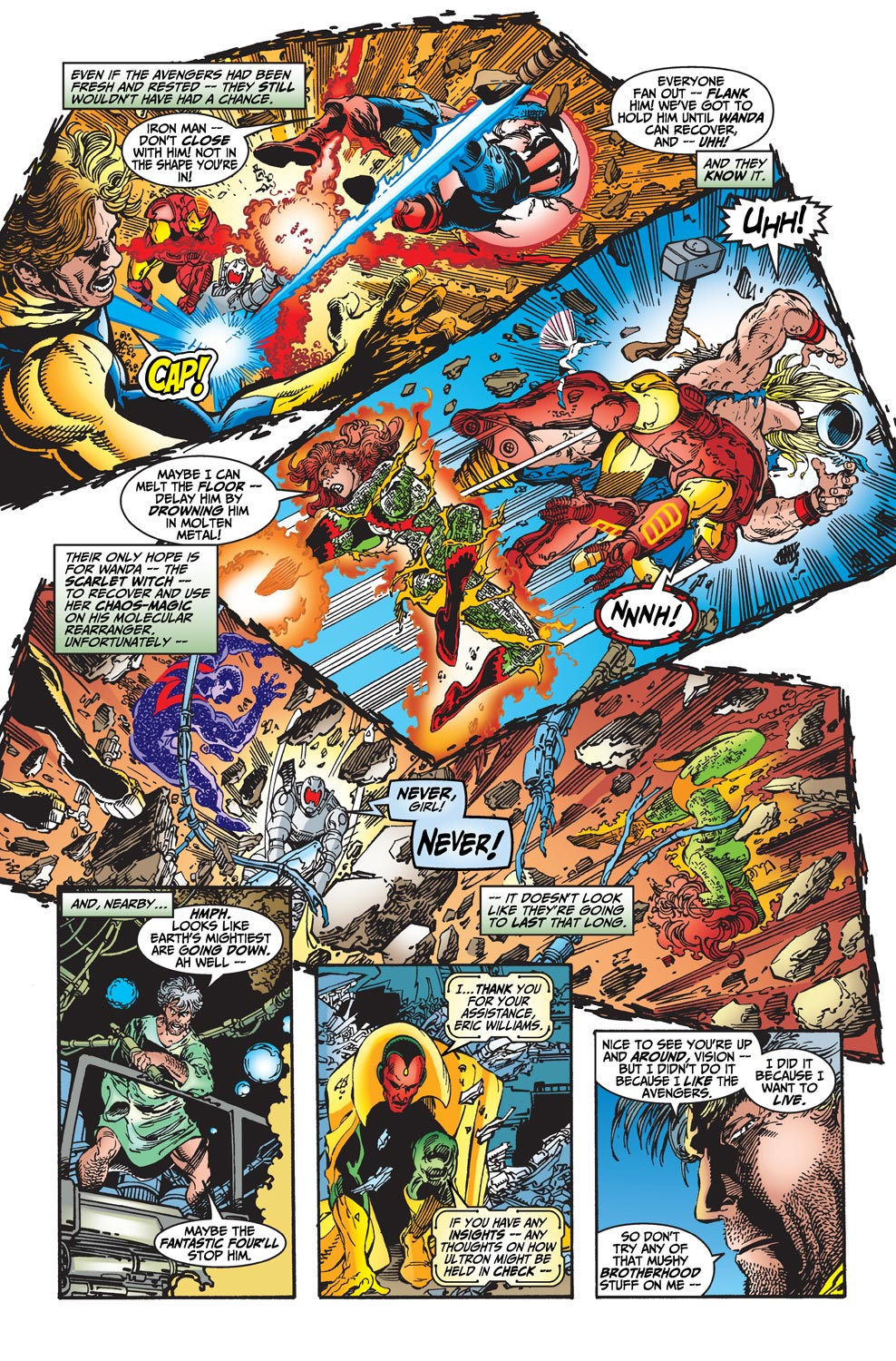Read online Avengers (1998) comic -  Issue #22 - 15