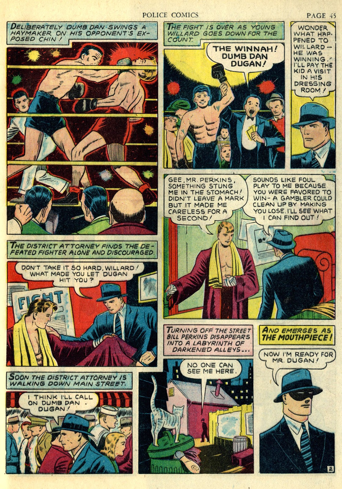 Police Comics issue 4 - Page 48