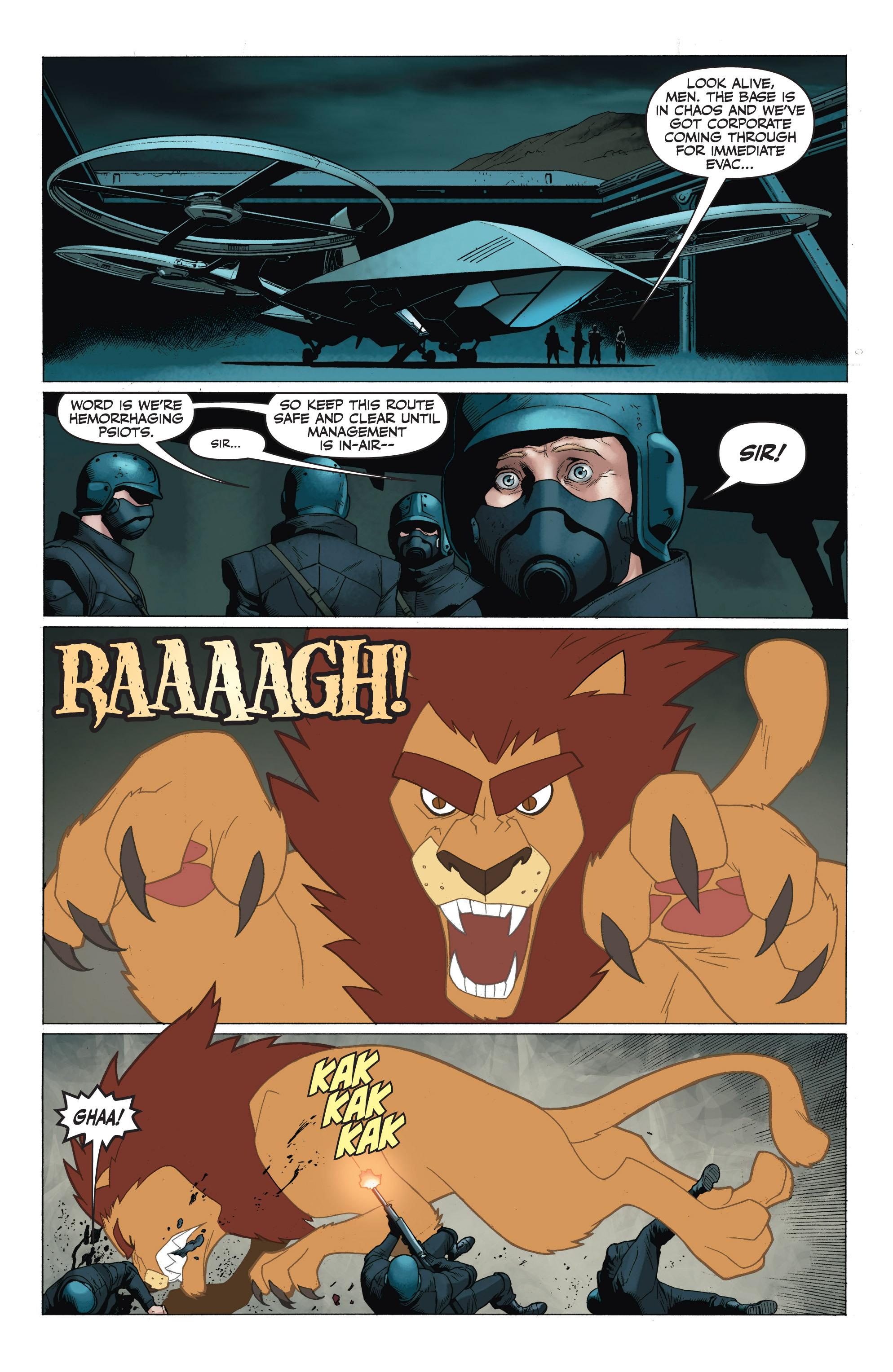 Read online Armor Hunters: Harbinger comic -  Issue # TPB - 100