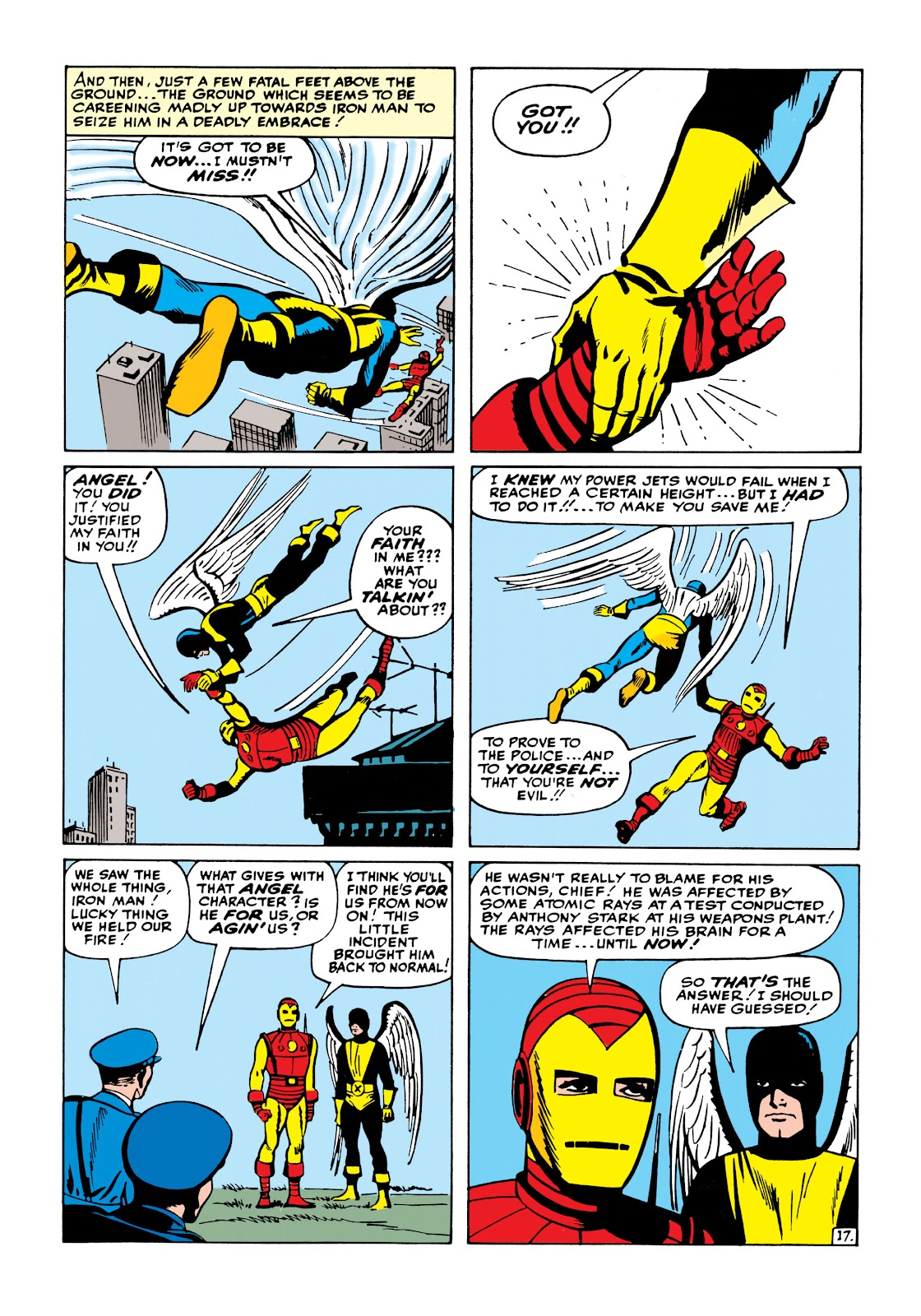Read online Marvel Masterworks: The Invincible Iron Man comic -  Issue # TPB 1 (Part 2) - 75