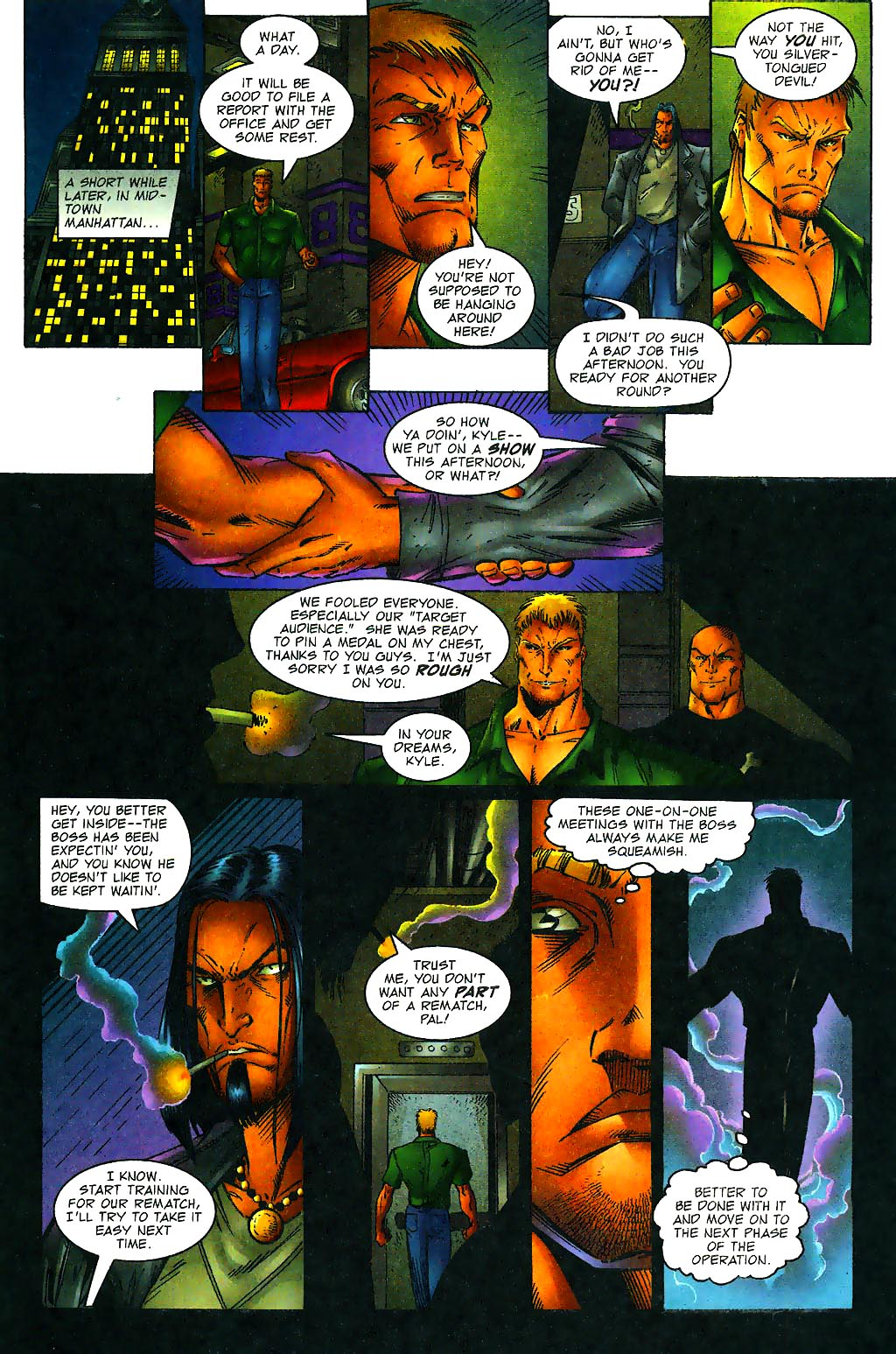 Read online Avengelyne (1996) comic -  Issue #1 - 18