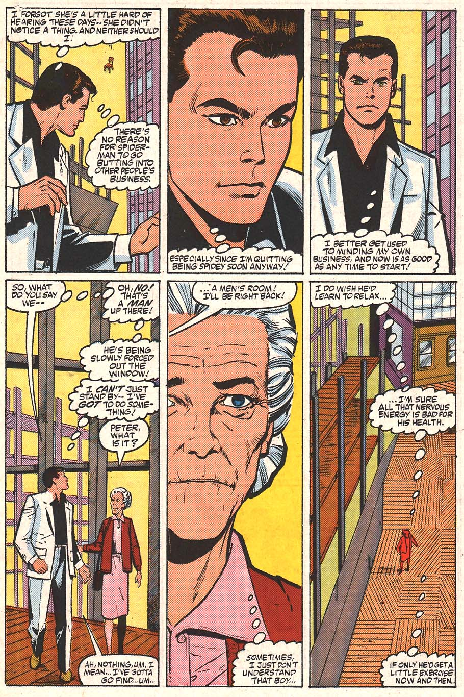 Web of Spider-Man (1985) Issue #24 #34 - English 8