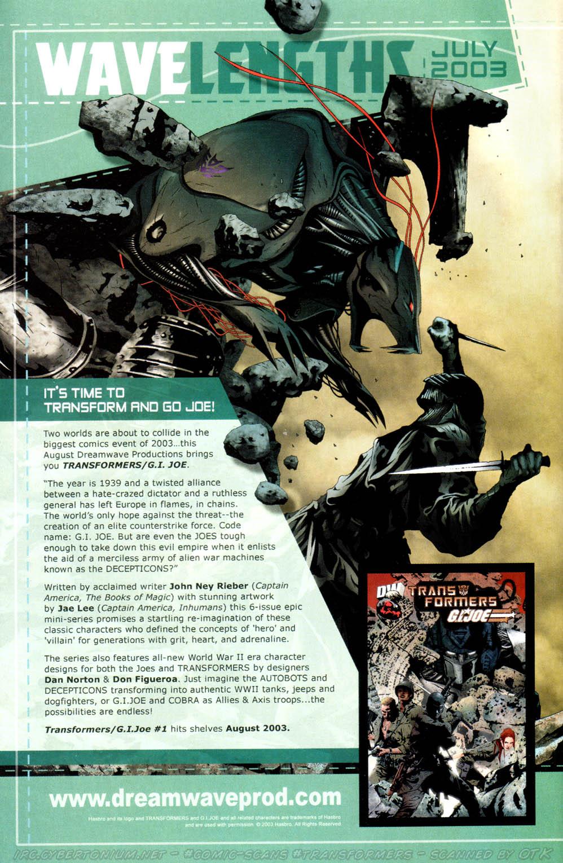 Read online Transformers Armada comic -  Issue #13 - 28