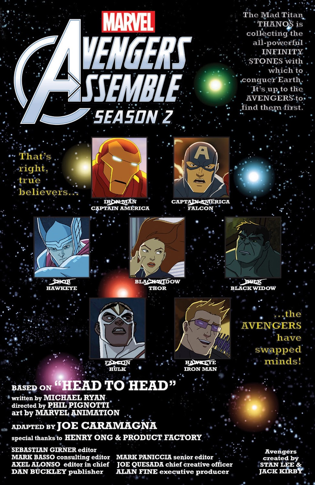 Read online Marvel Universe Avengers Assemble Season 2 comic -  Issue #8 - 12