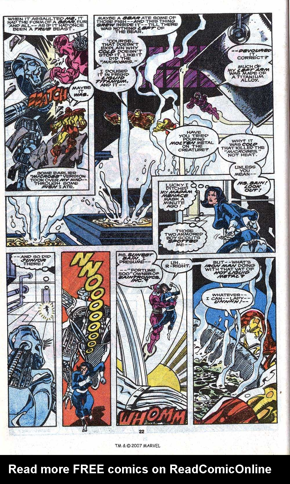 Iron Man Annual issue 11 - Page 24