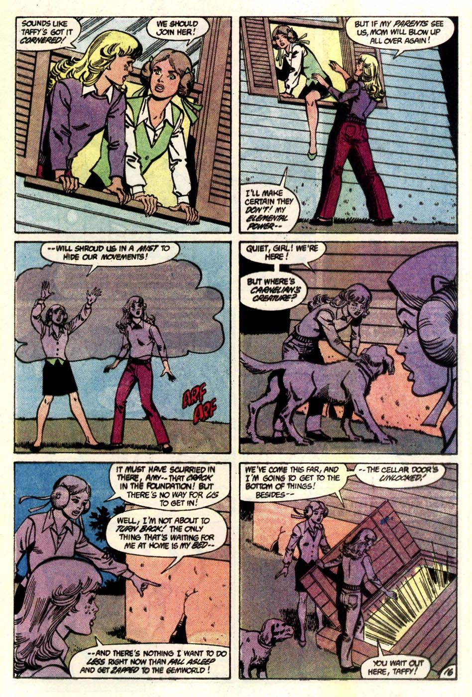 Read online Amethyst (1985) comic -  Issue #4 - 17