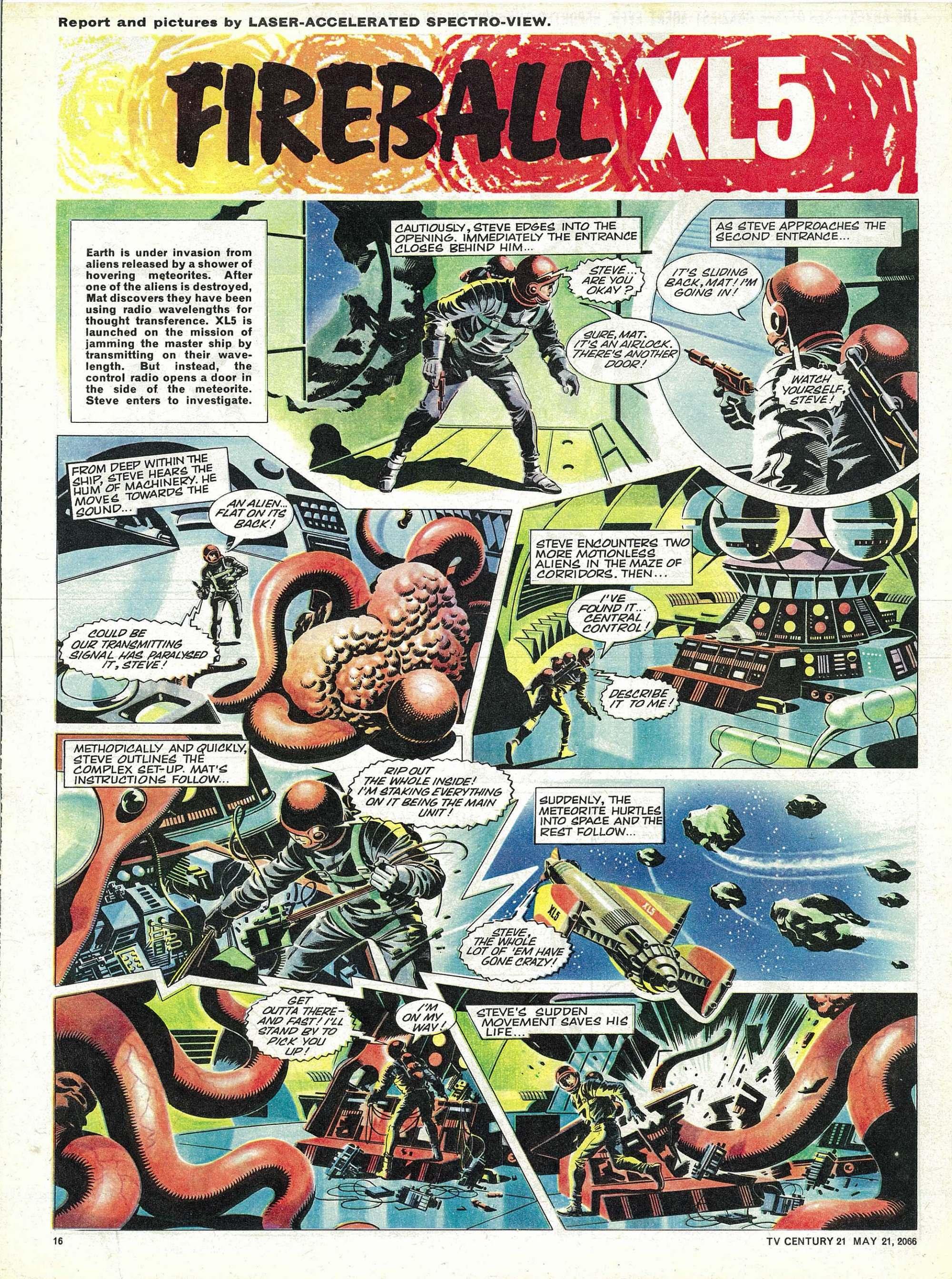 Read online TV Century 21 (TV 21) comic -  Issue #70 - 15