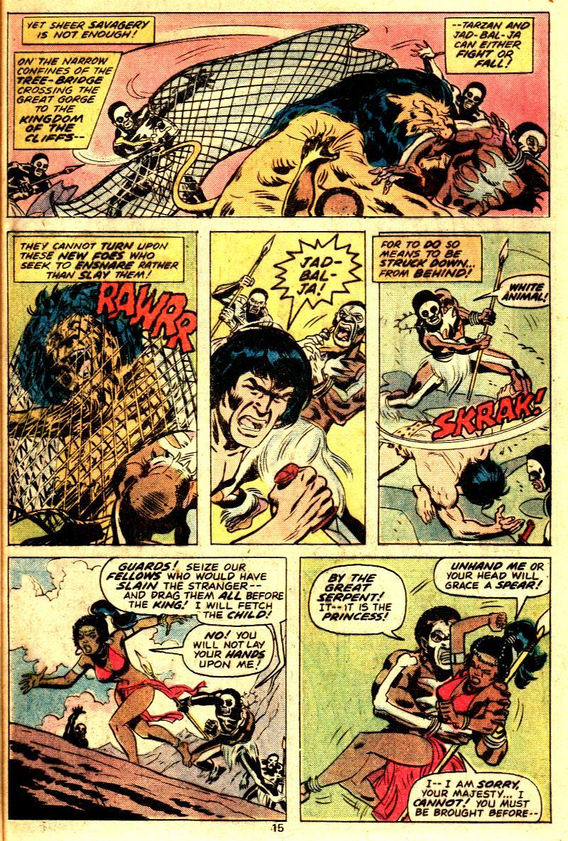 Read online Tarzan (1977) comic -  Issue # _Annual 2 - 13