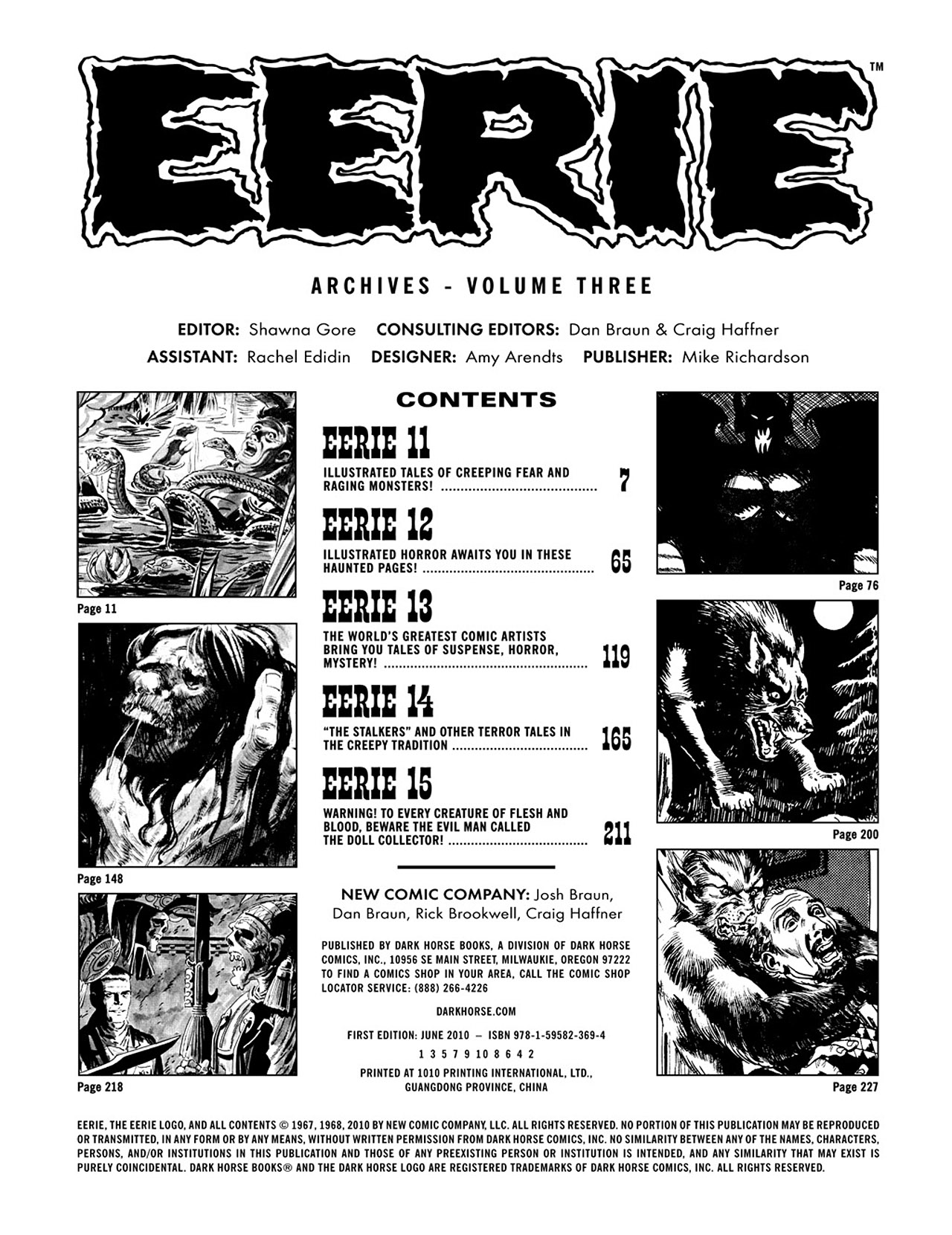 Read online Eerie Archives comic -  Issue # TPB 3 - 4
