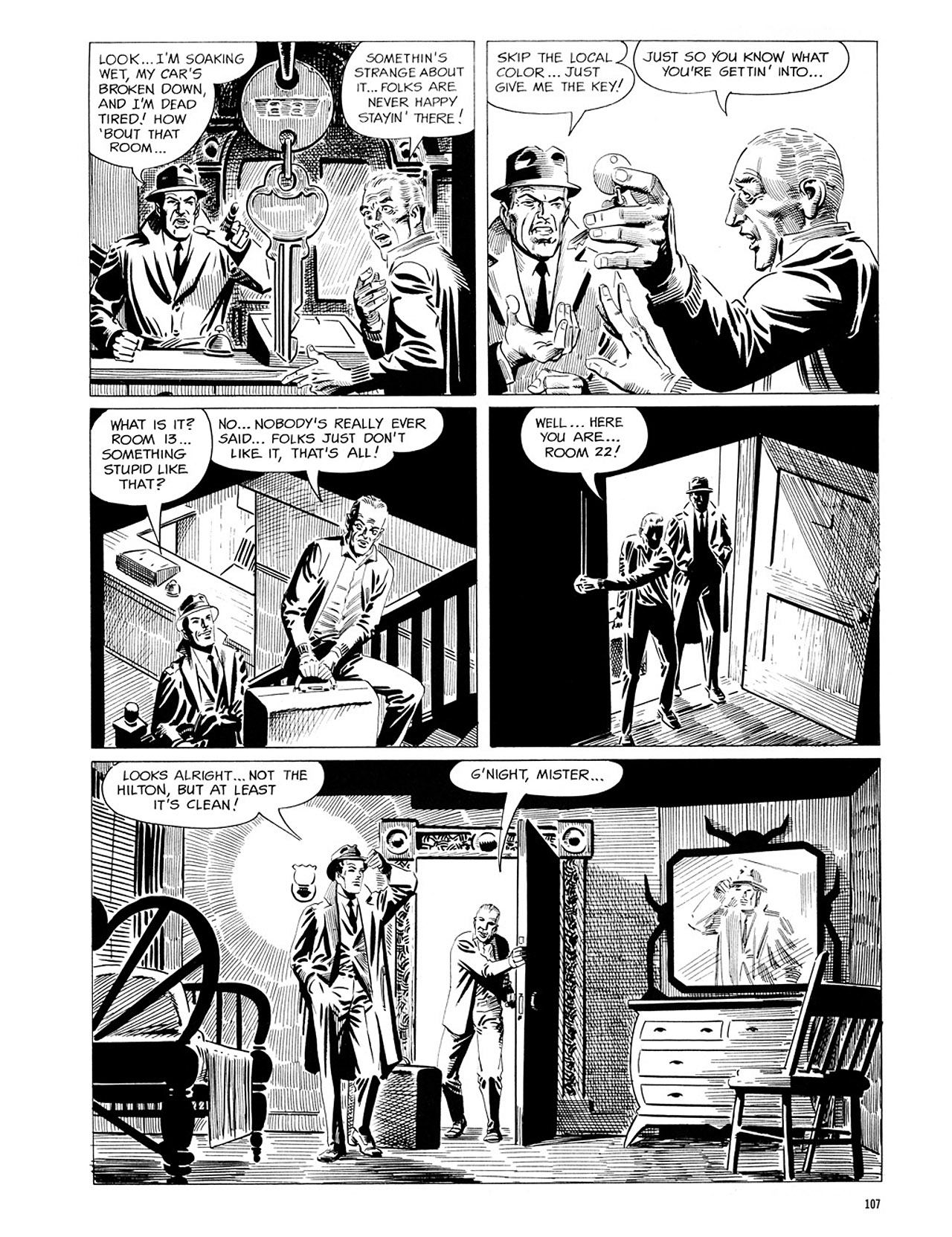 Read online Eerie Archives comic -  Issue # TPB 1 - 108