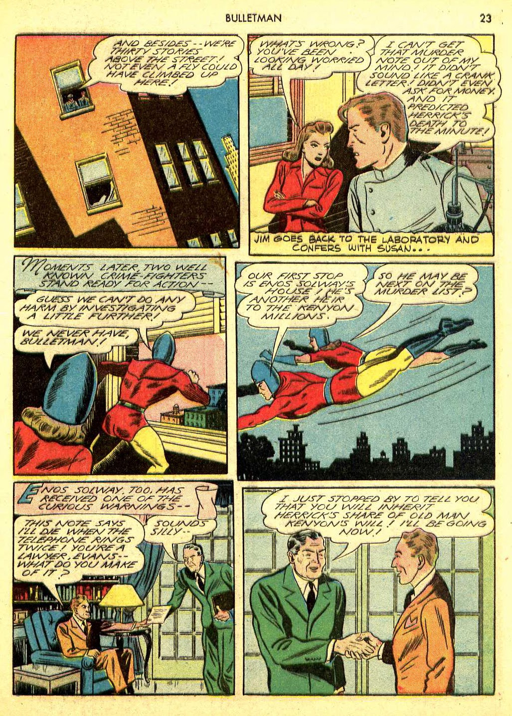 Bulletman issue 12 - Page 22