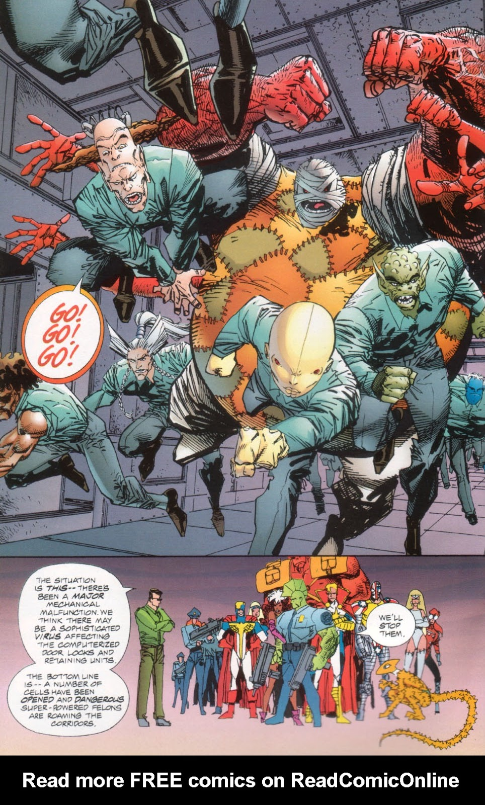 The Savage Dragon (1993) Issue #26 #29 - English 9
