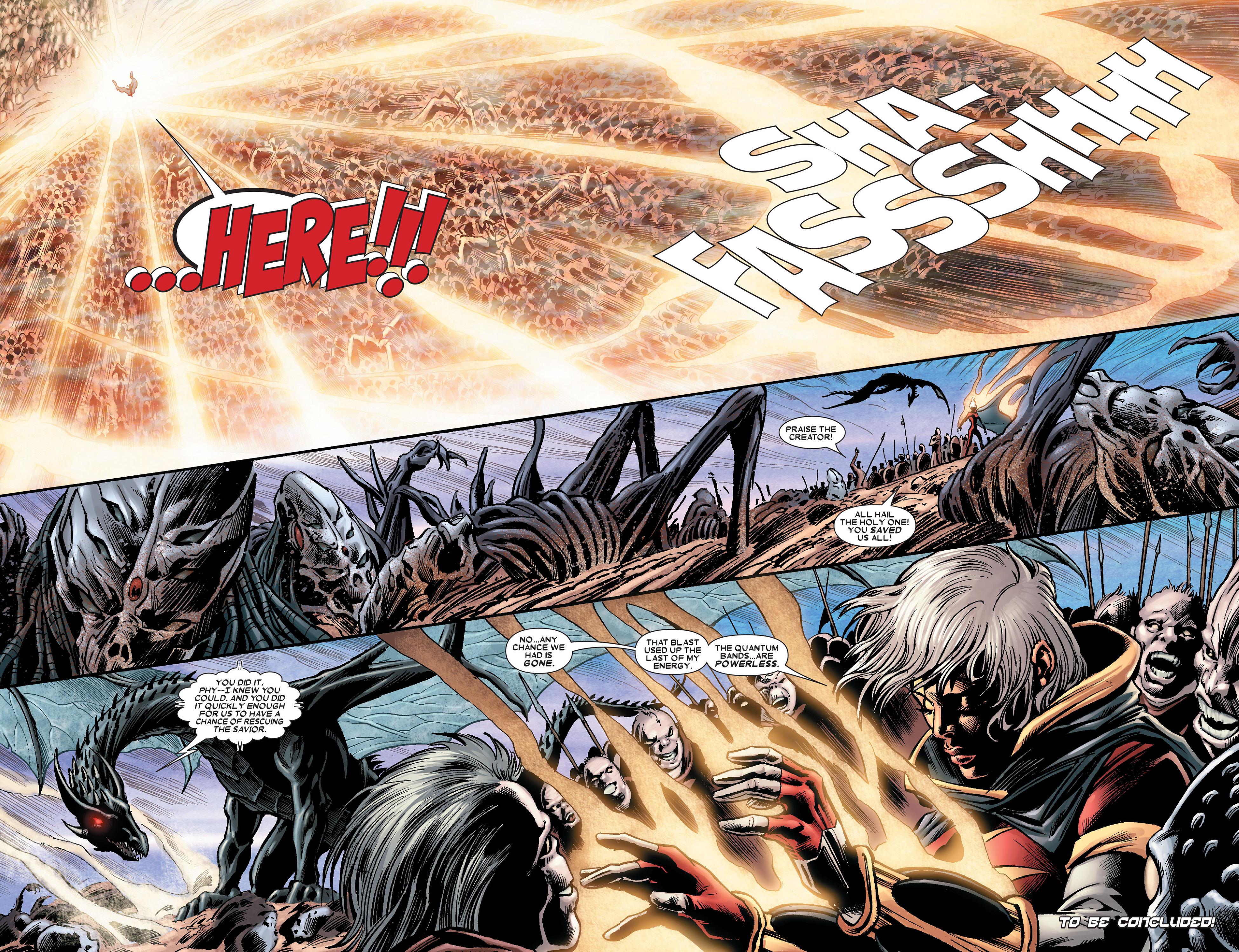 Read online Annihilation: Conquest - Quasar comic -  Issue #3 - 21
