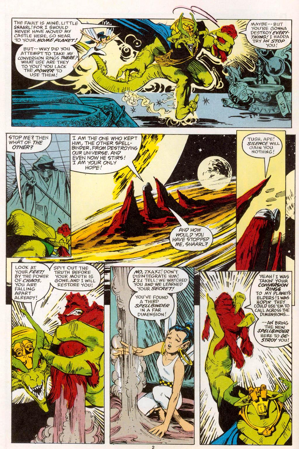 Read online Spellbound comic -  Issue #1 - 3
