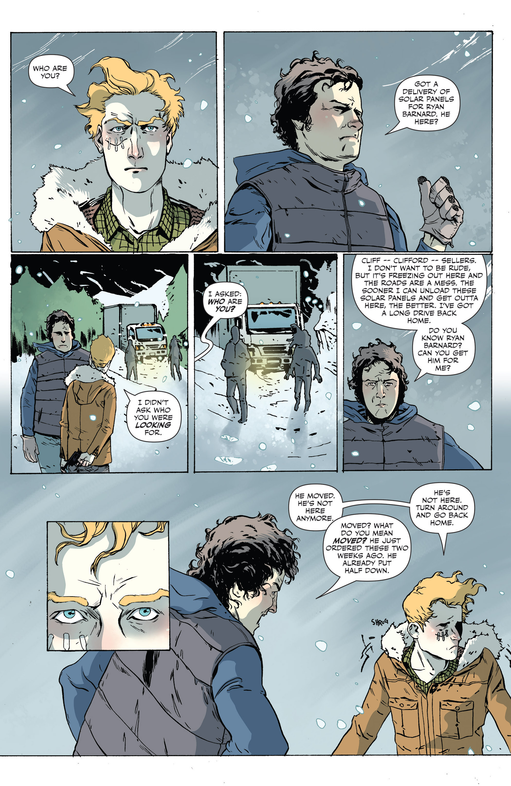 Read online Sheltered comic -  Issue #6 - 16