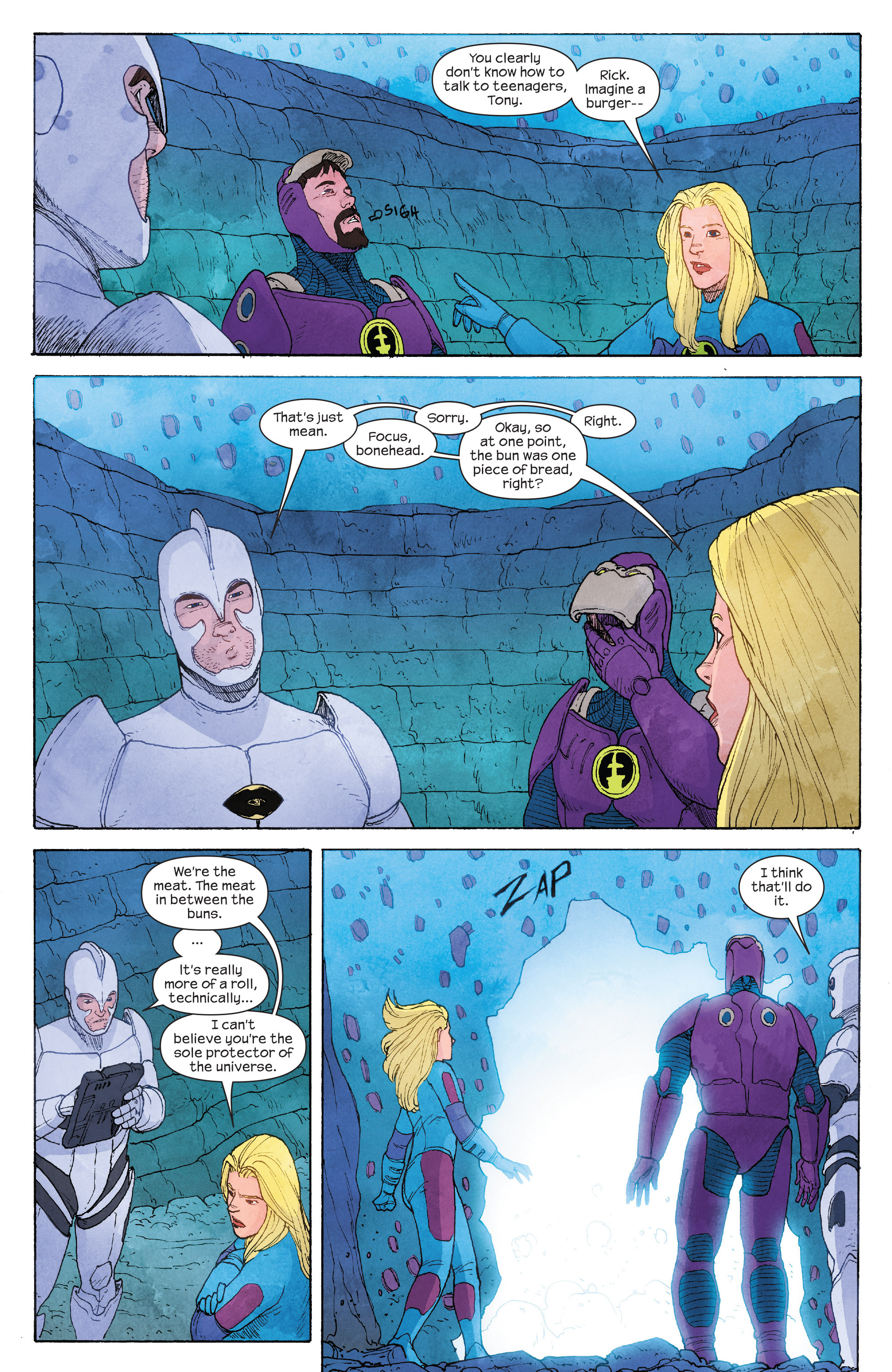 Read online Ultimate FF comic -  Issue #4 - 11