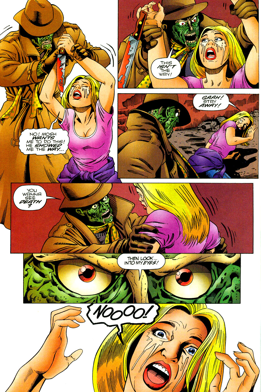 Read online UltraForce (1994) comic -  Issue #7 - 9