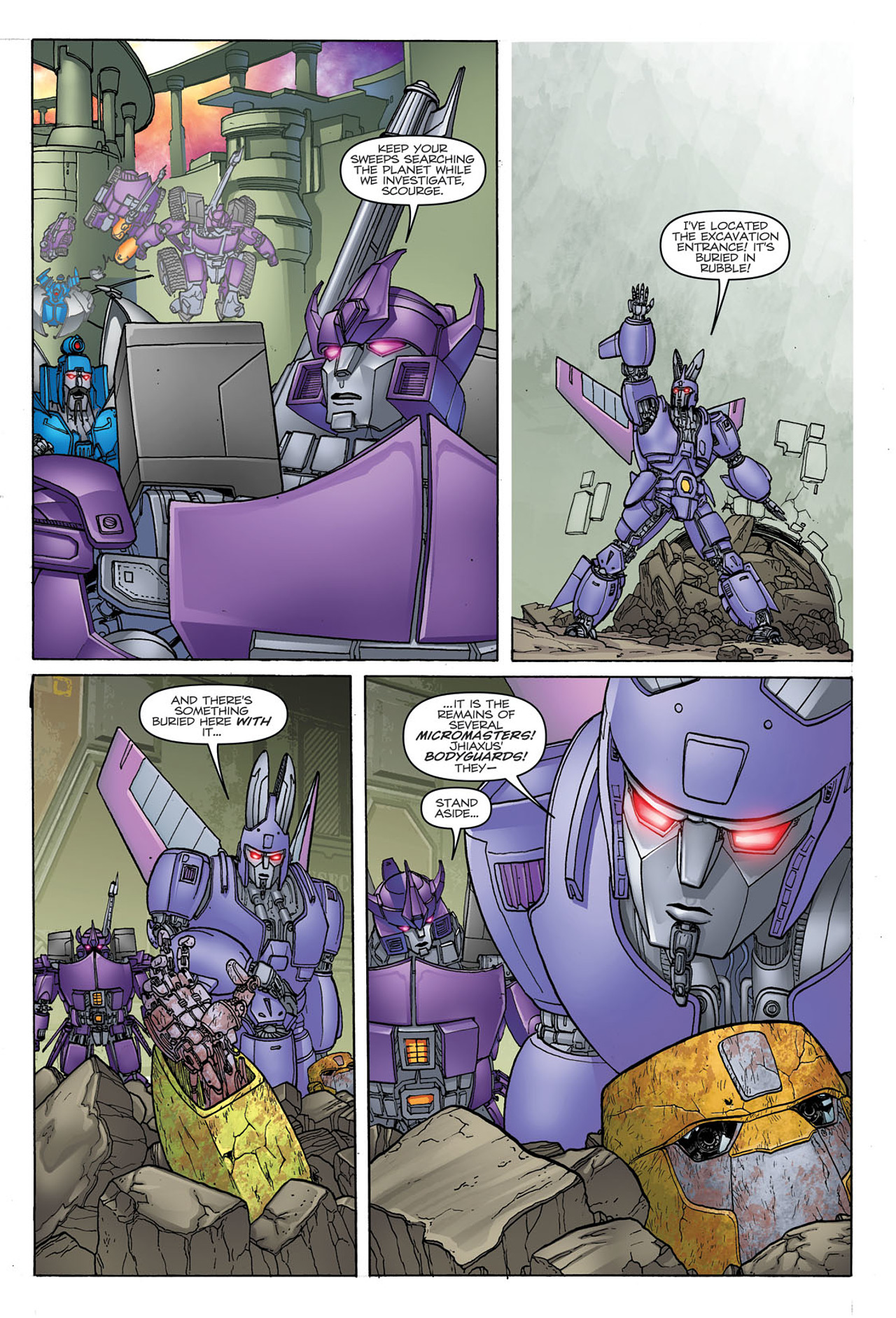 Read online Transformers: Heart of Darkness comic -  Issue #1 - 15