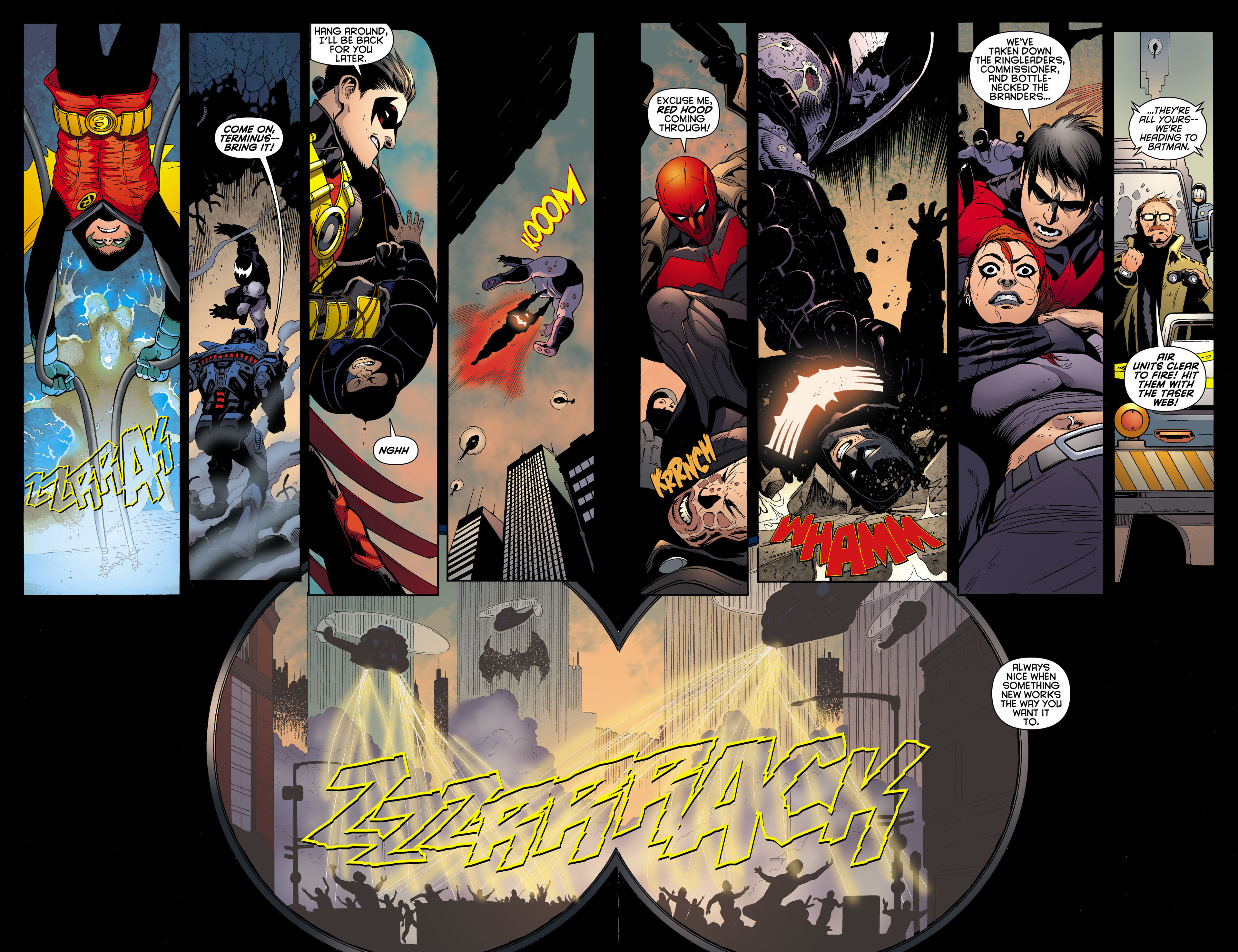 Read online Batman and Robin (2011) comic -  Issue #12 - 11