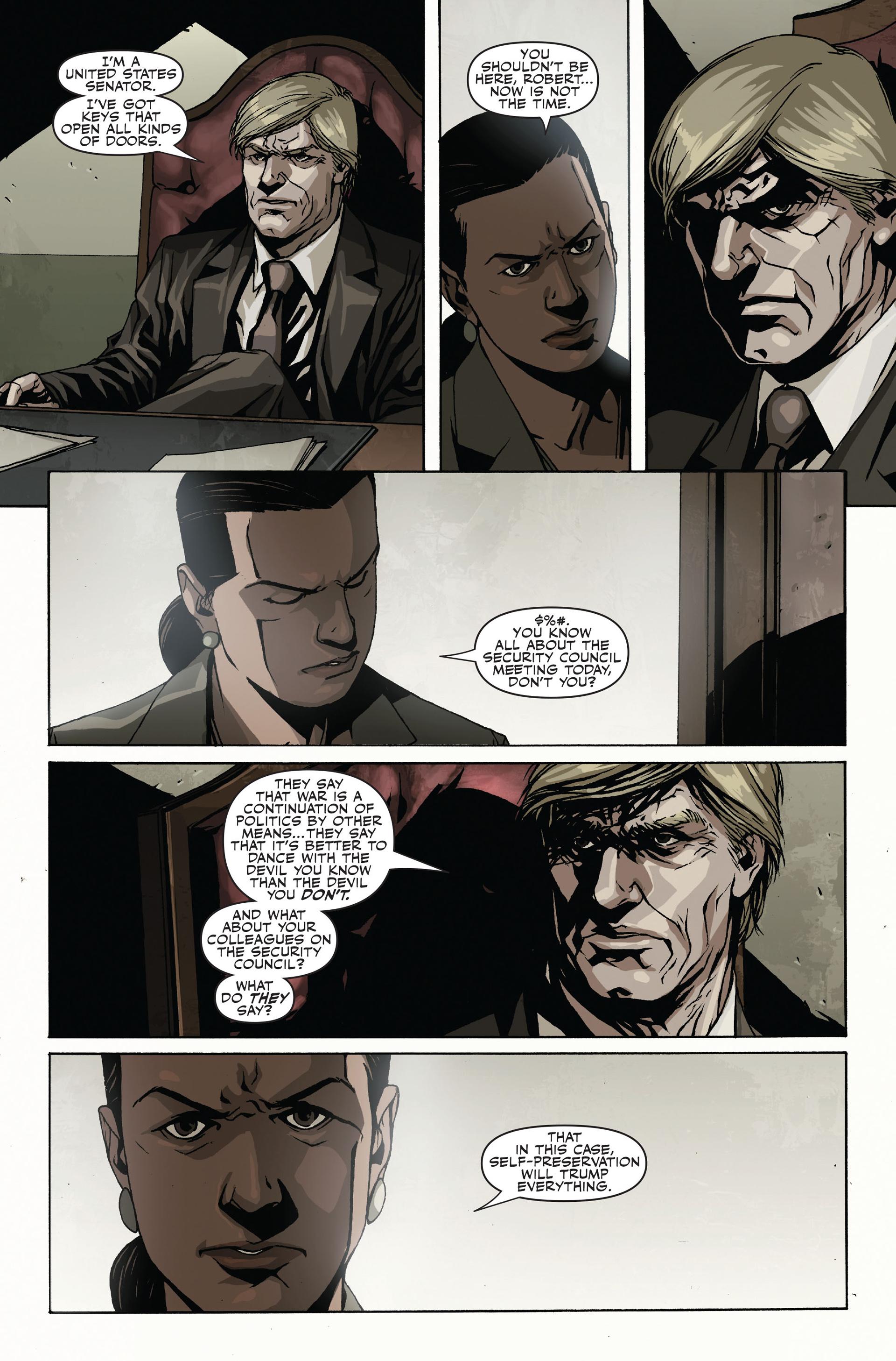 Read online Secret Warriors comic -  Issue #19 - 20