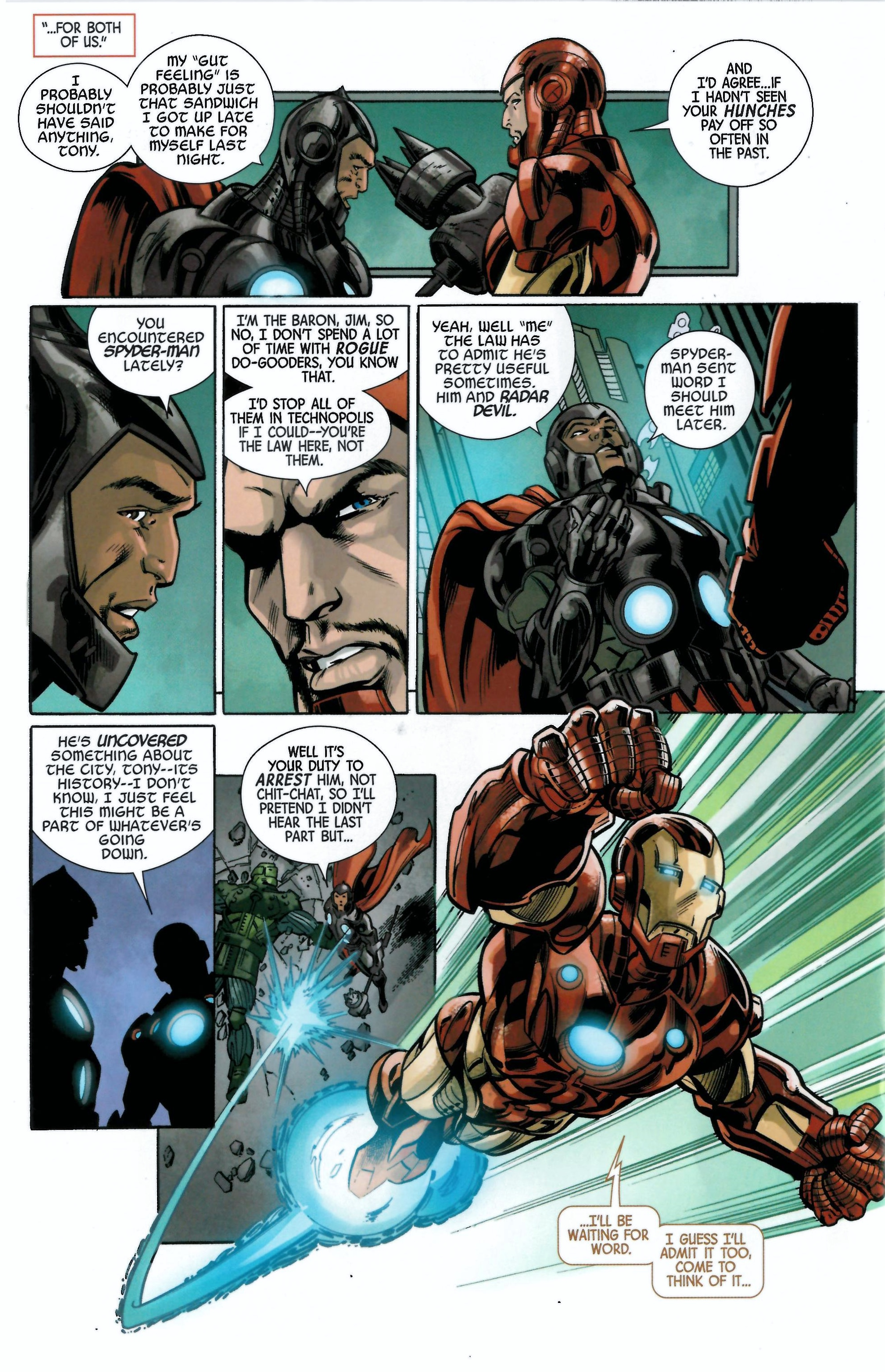 Read online Armor Wars comic -  Issue #0.5 - 11