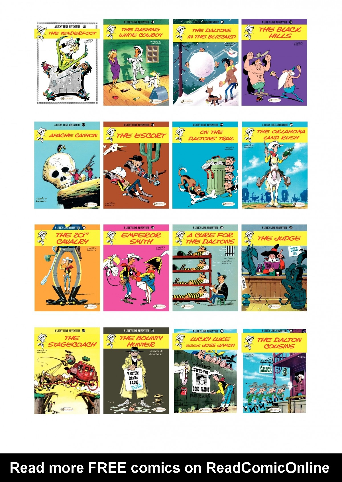 Read online A Lucky Luke Adventure comic -  Issue #50 - 46