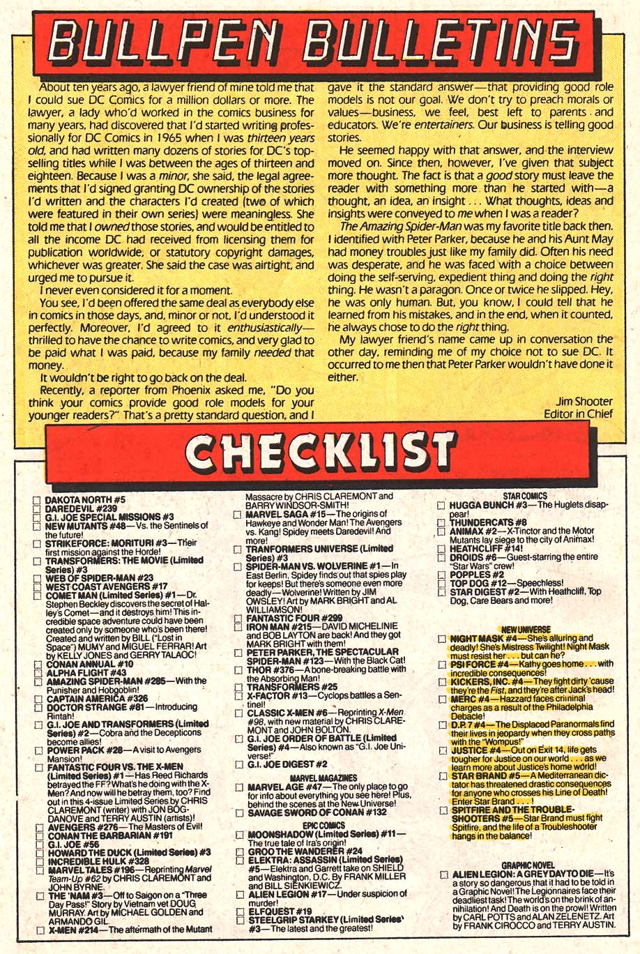 Web of Spider-Man (1985) Issue #24 #34 - English 22