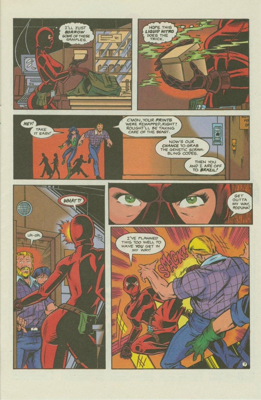 Read online Ex-Mutants comic -  Issue #8 - 9