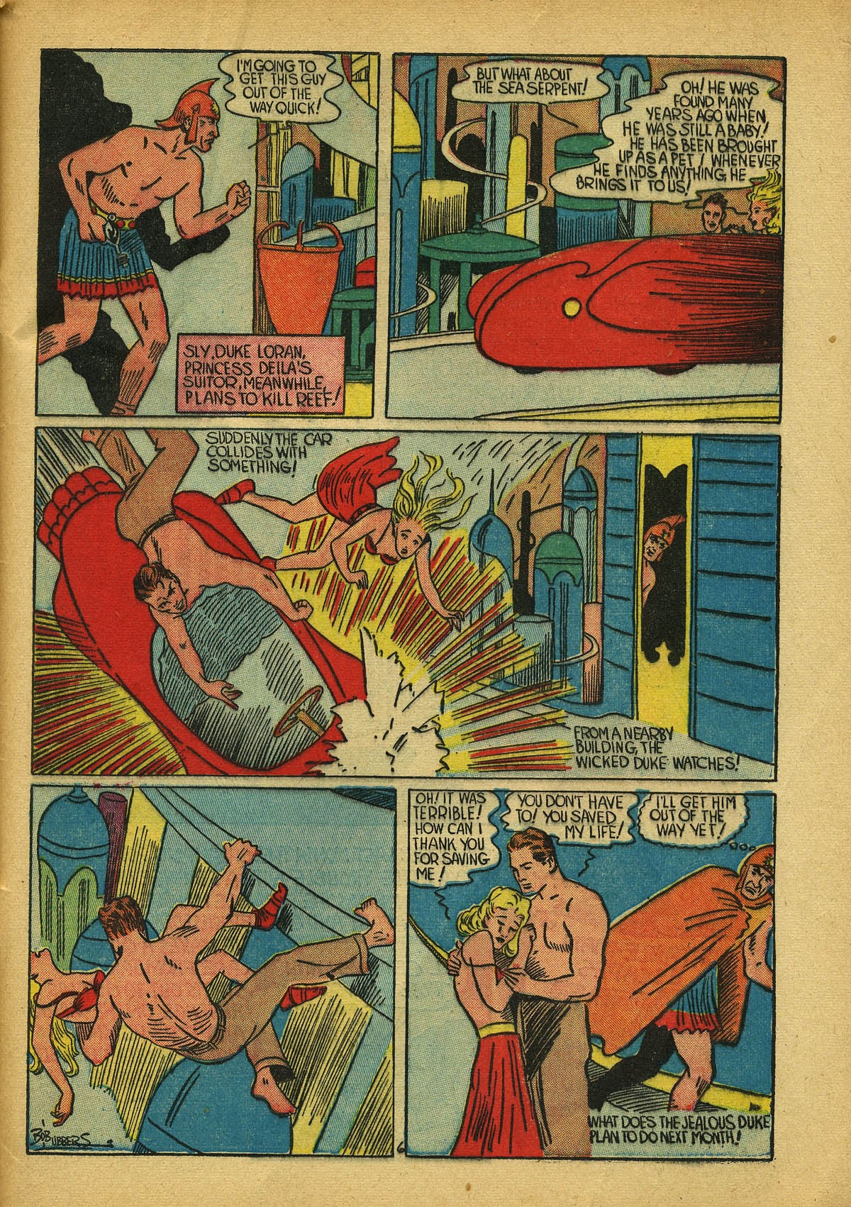 Read online Amazing Man Comics comic -  Issue #22 - 58