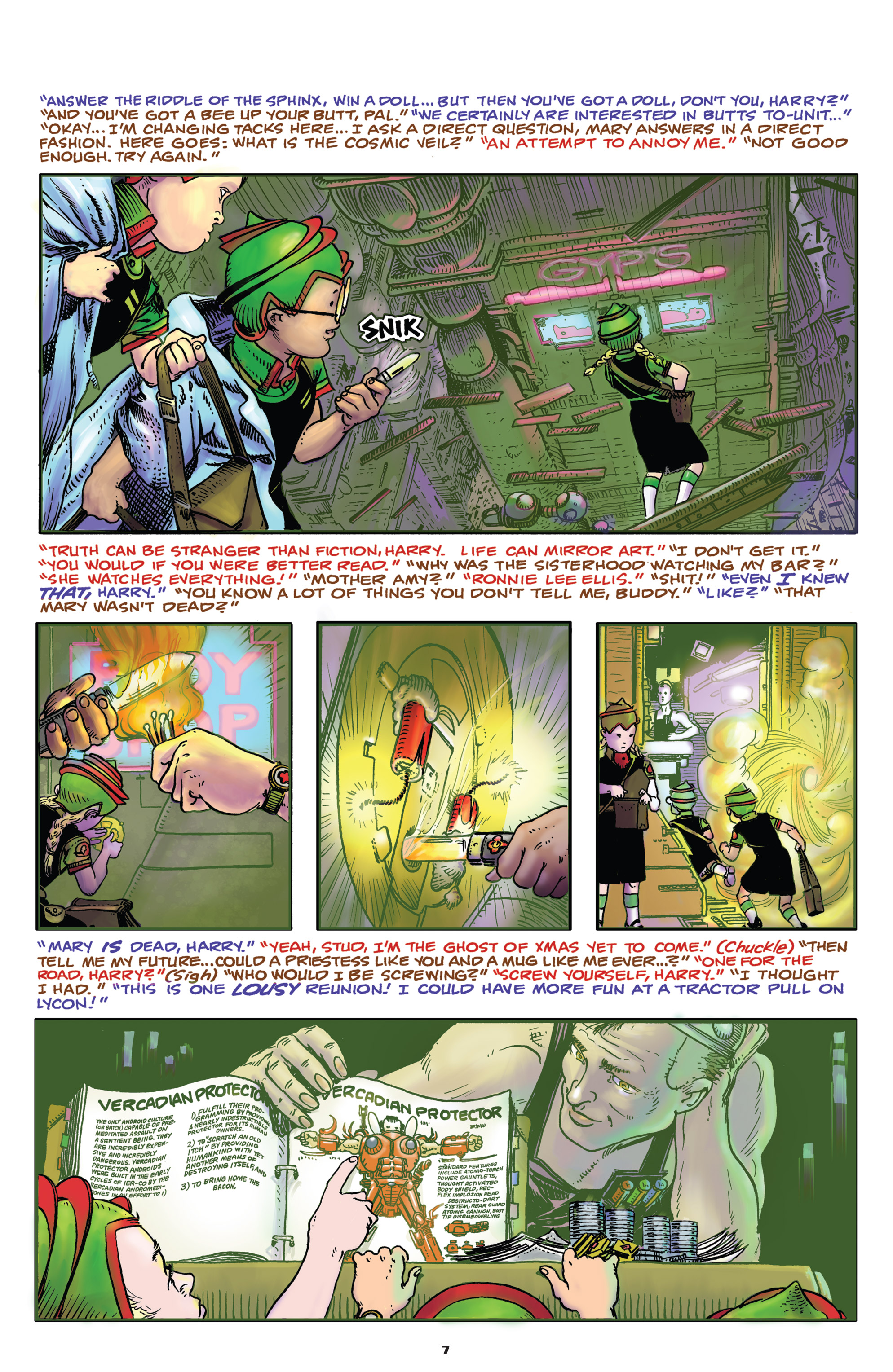Read online Starstruck: Old Proldiers Never Die comic -  Issue #4 - 8