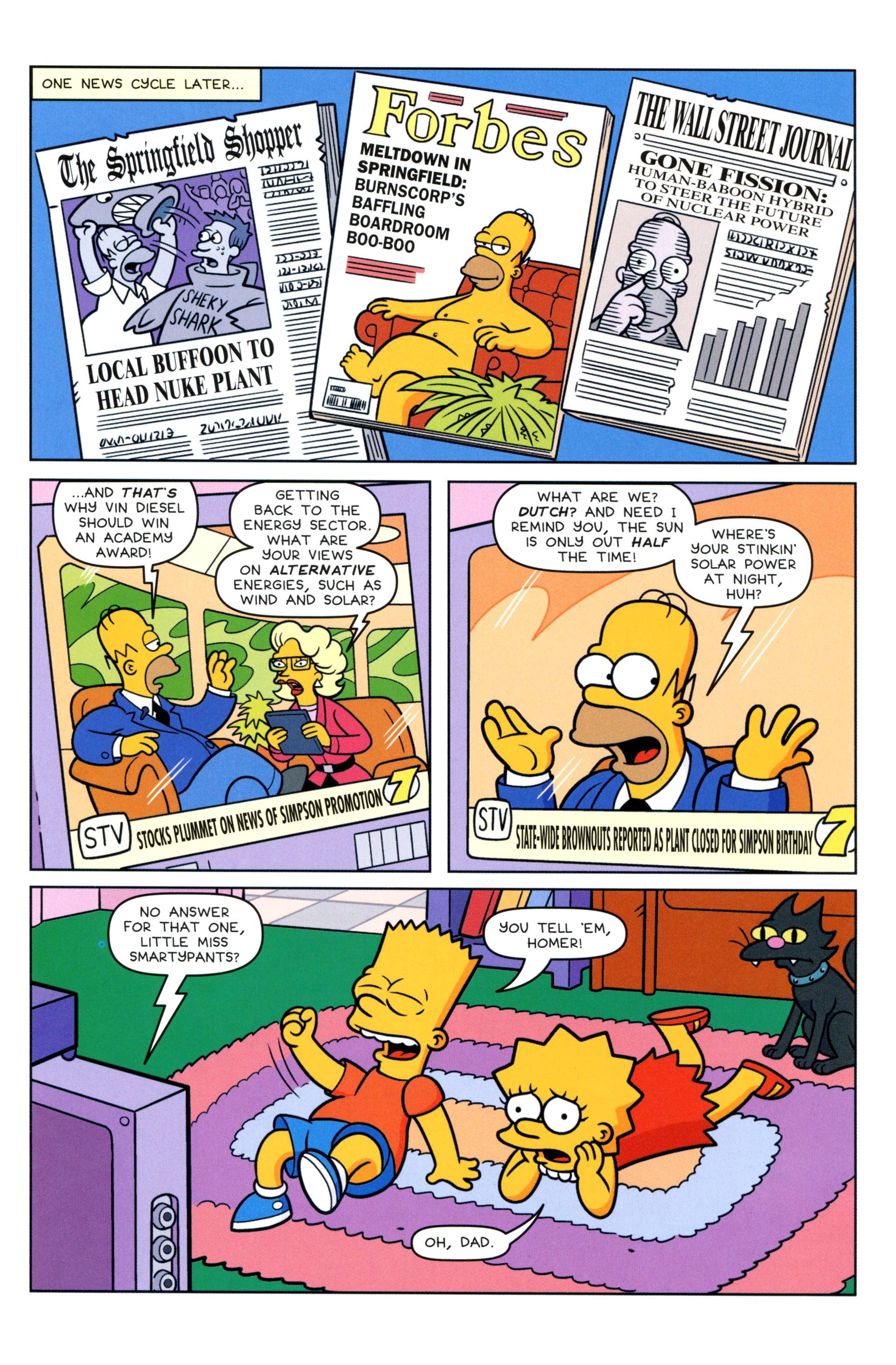 Read online Simpsons Comics comic -  Issue #205 - 20