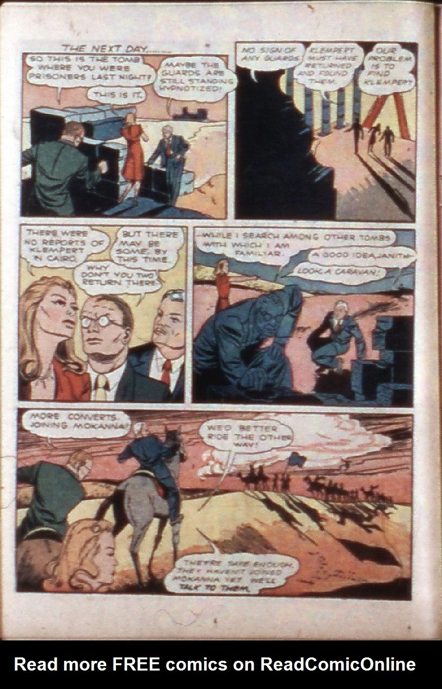 Read online Super-Magician Comics comic -  Issue #3 - 24