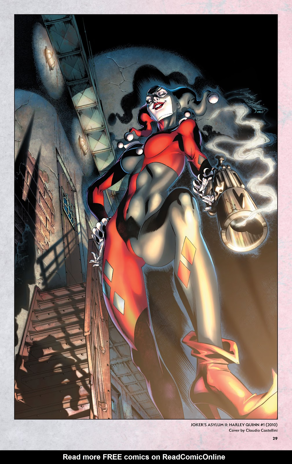 Read online Harley Quinn: A Rogue's Gallery―The Deluxe Cover Art Collection comic -  Issue # TPB (Part 1) - 28