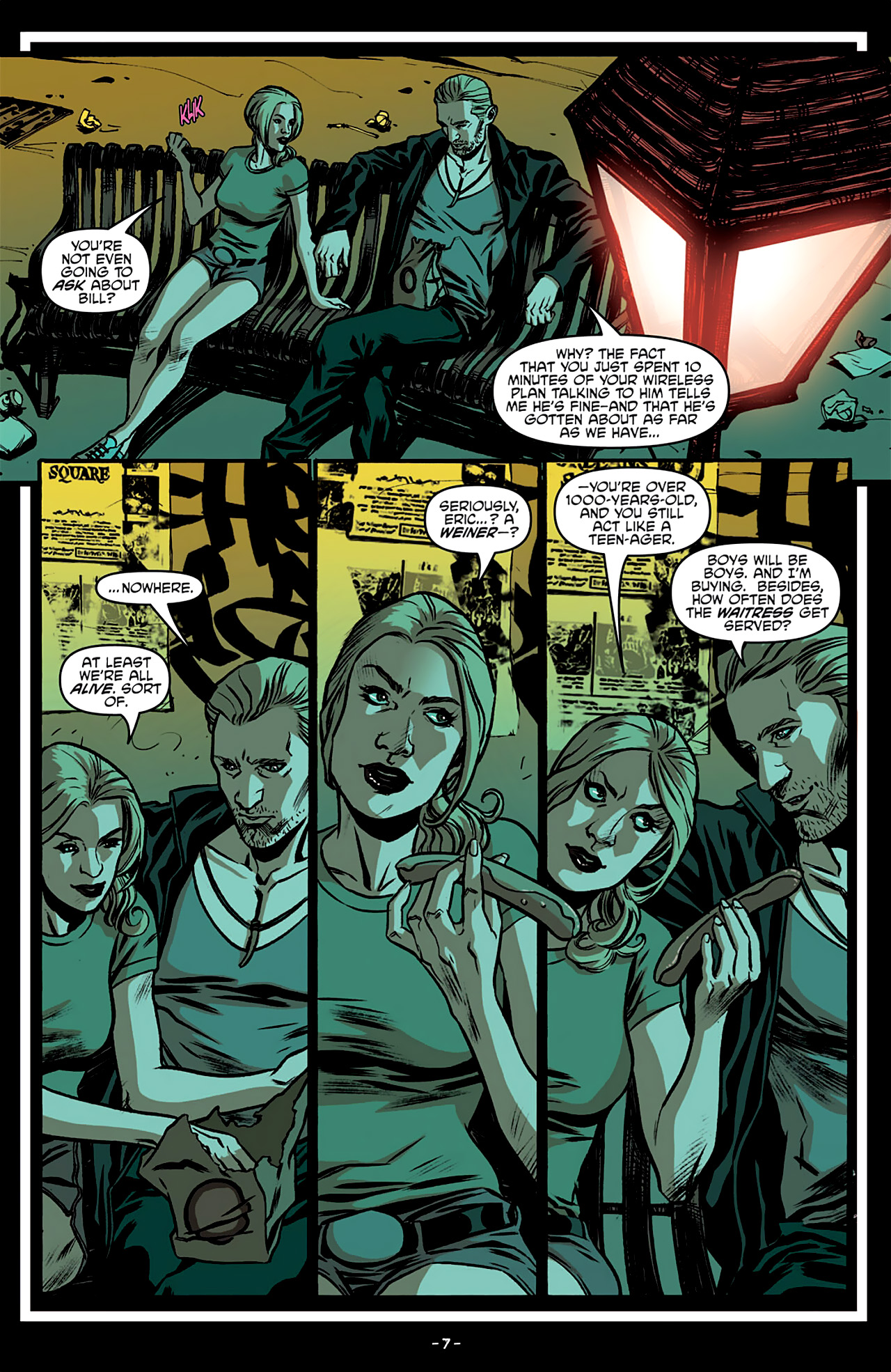 Read online True Blood: French Quarter comic -  Issue #3 - 12