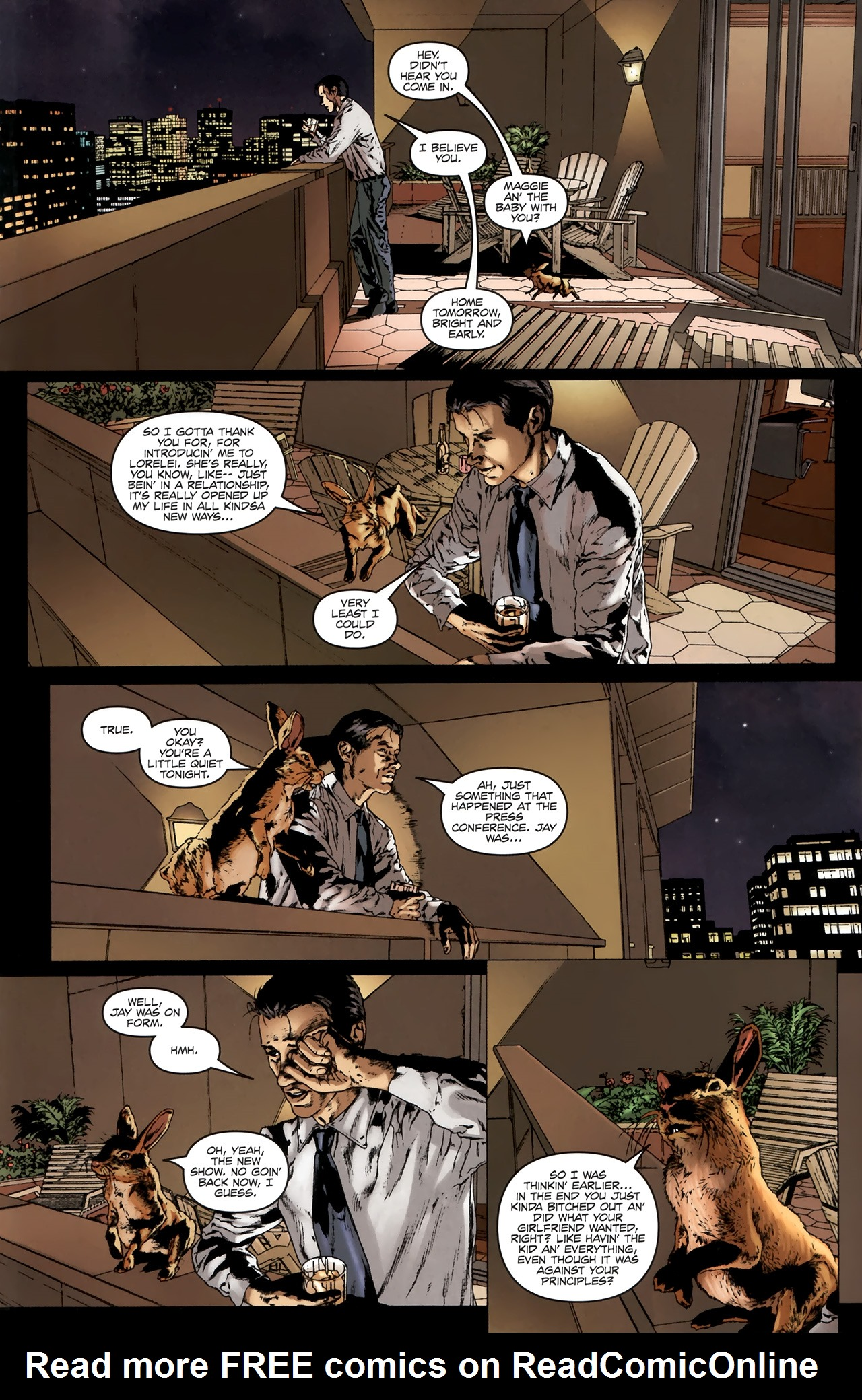 Read online Chronicles of Wormwood: The Last Battle comic -  Issue #6 - 32