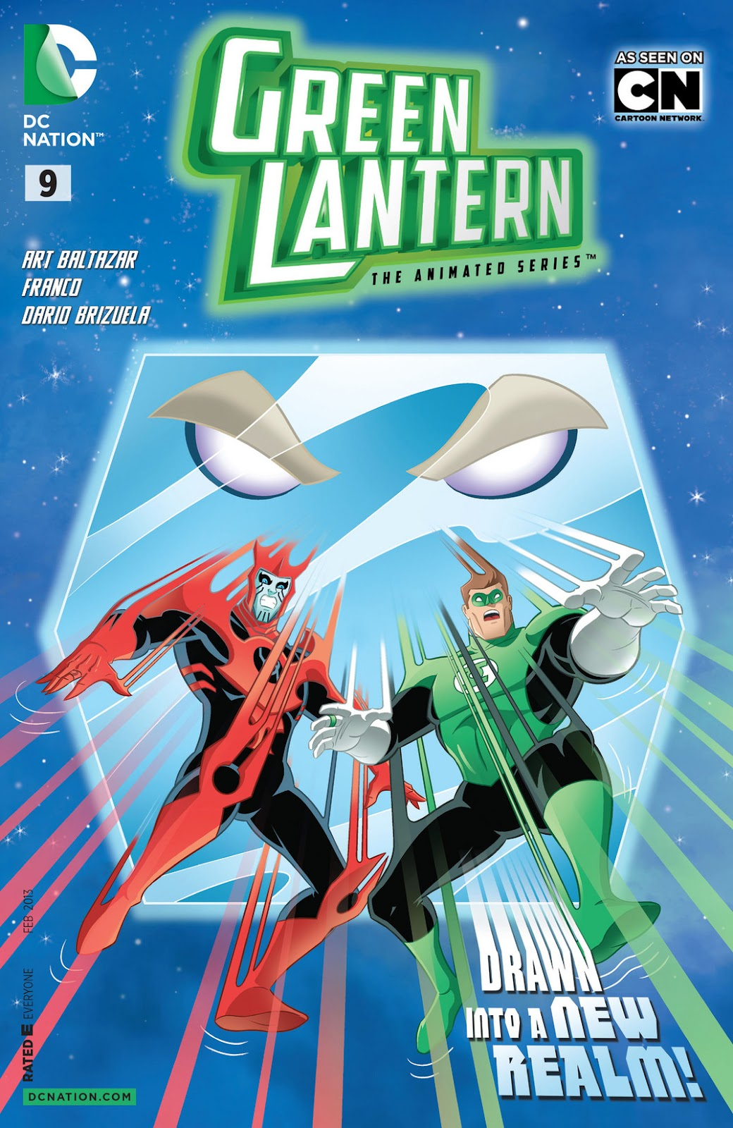 Green Lantern: The Animated Series 9 Page 1